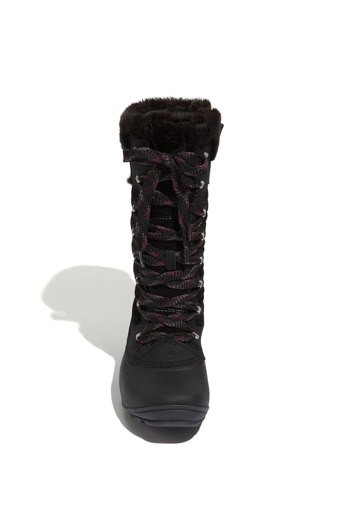 'Winterbelle Peak' Waterproof Boot,                             Alternate thumbnail 3, color,                             001