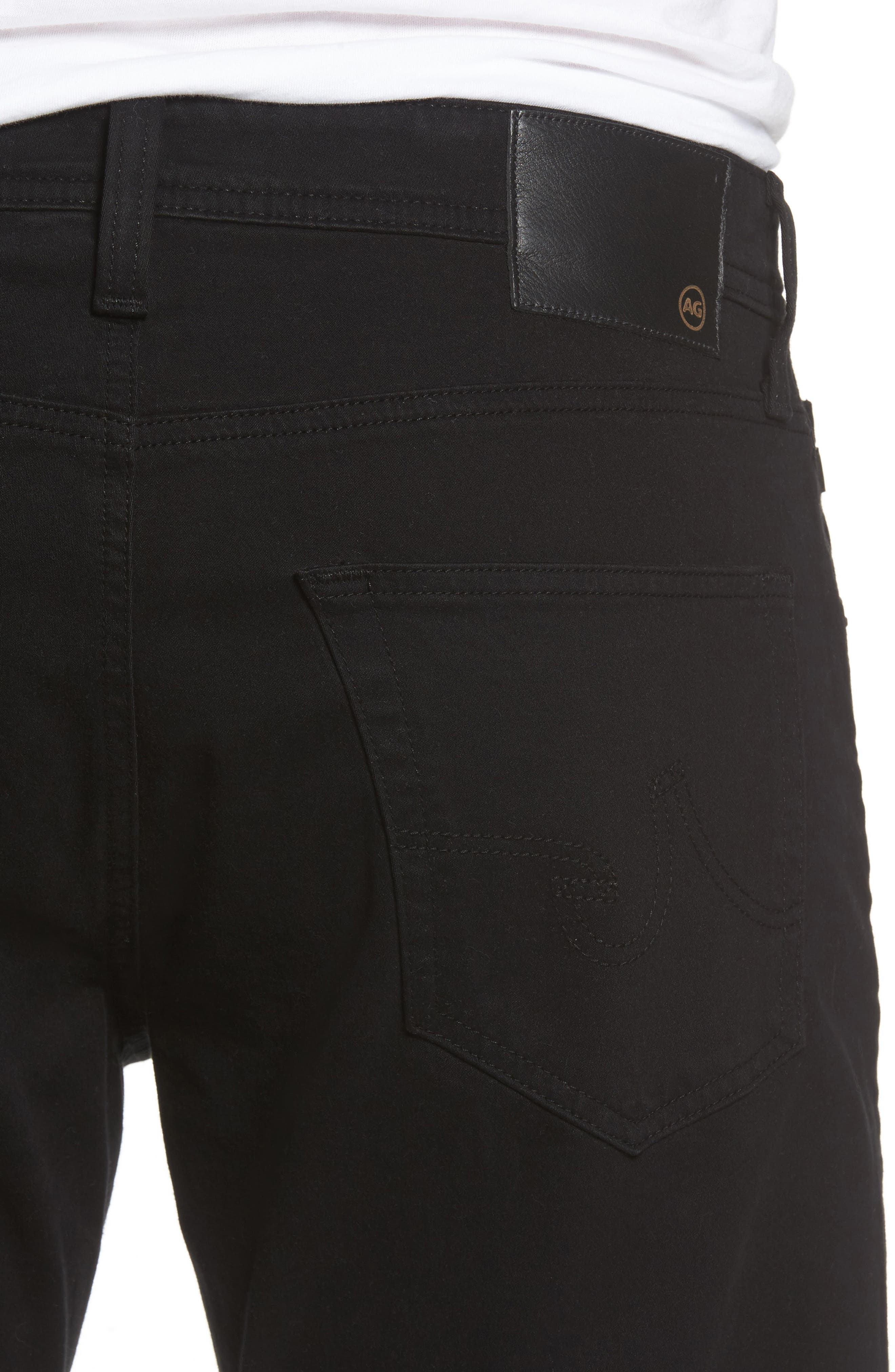Ives SUD Straight Leg Pants,                             Alternate thumbnail 4, color,                             SUPER BLACK