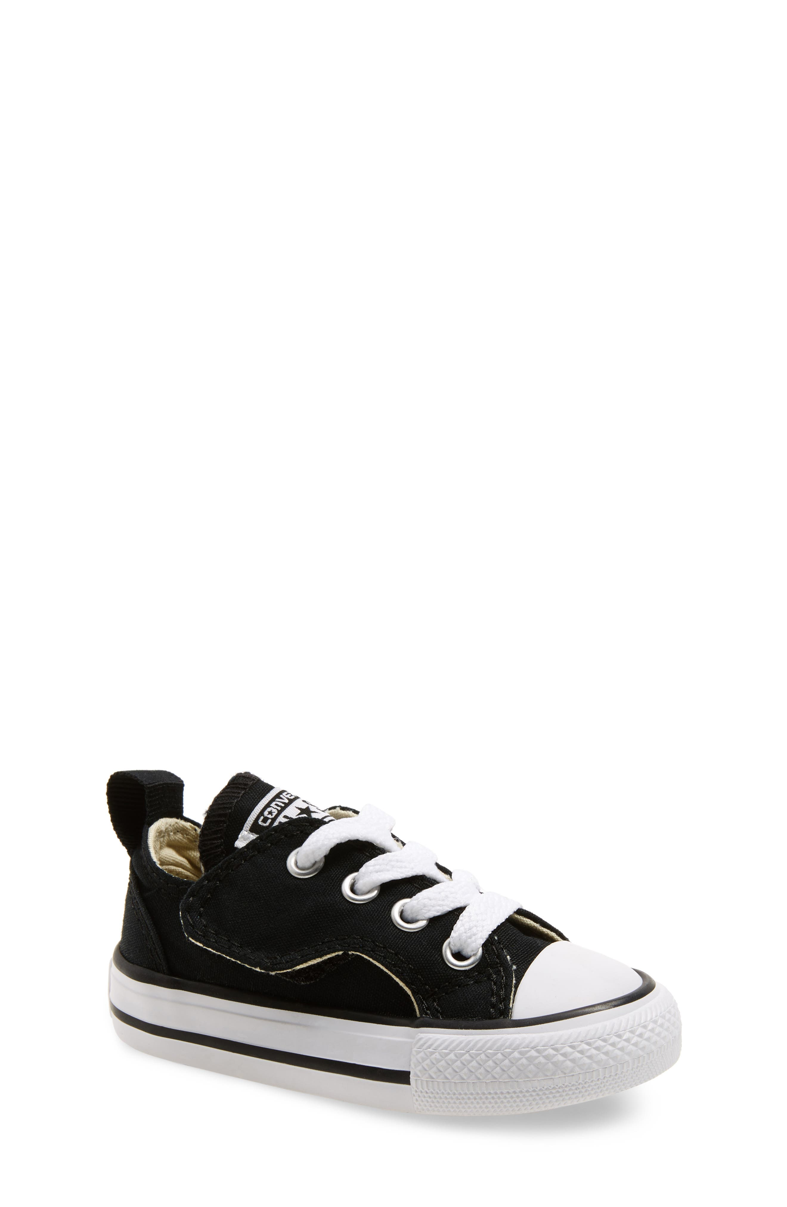 Chuck Taylor<sup>®</sup> All Star<sup>®</sup> Simple Low-Top Sneaker,                             Main thumbnail 1, color,                             001