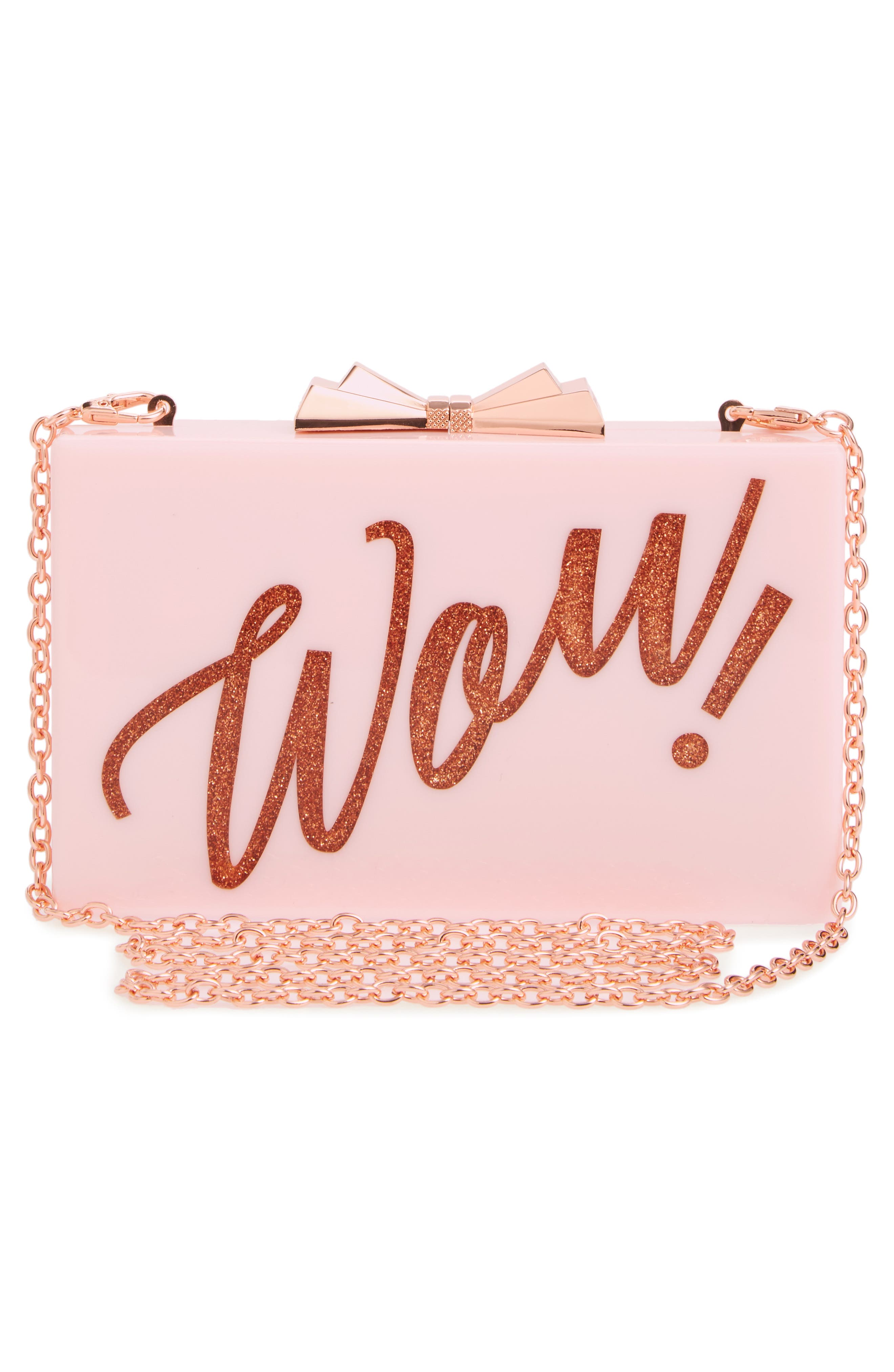 Stecy Wow Clutch,                             Alternate thumbnail 3, color,                             530