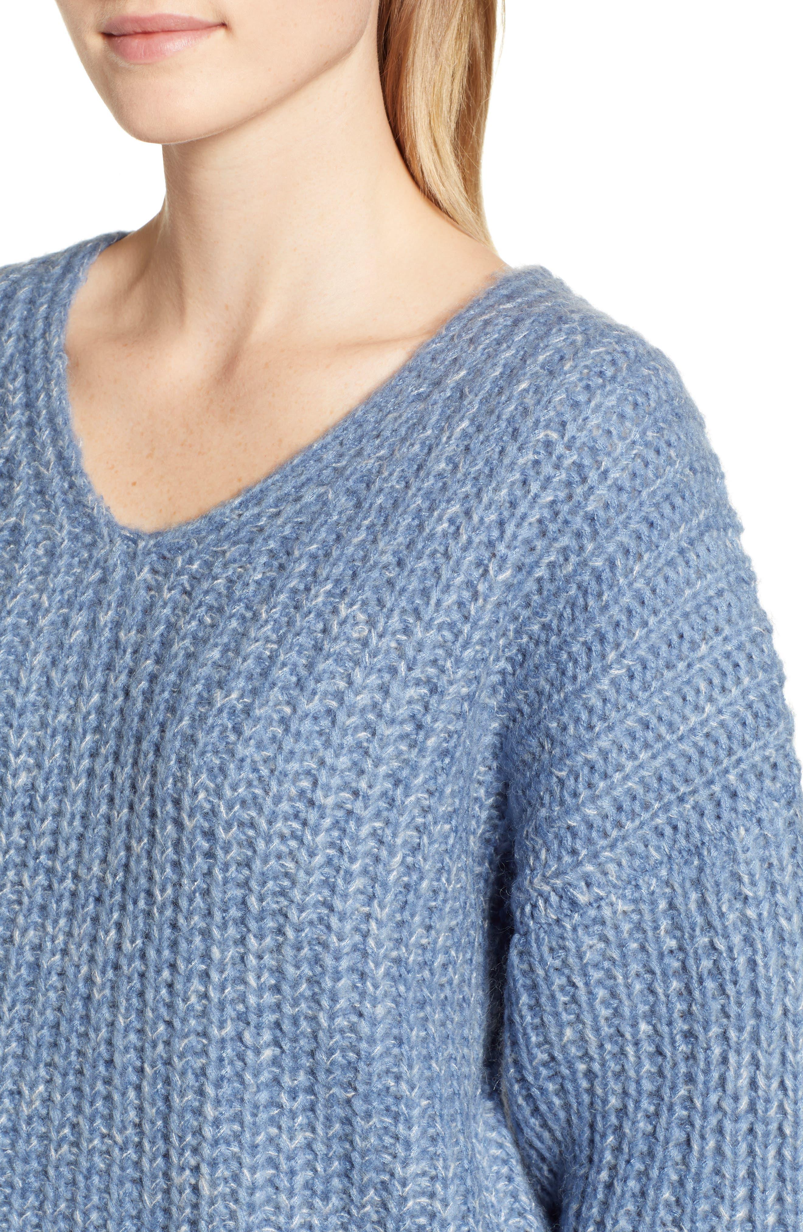 Dorit Sweater,                             Alternate thumbnail 4, color,                             BLUE