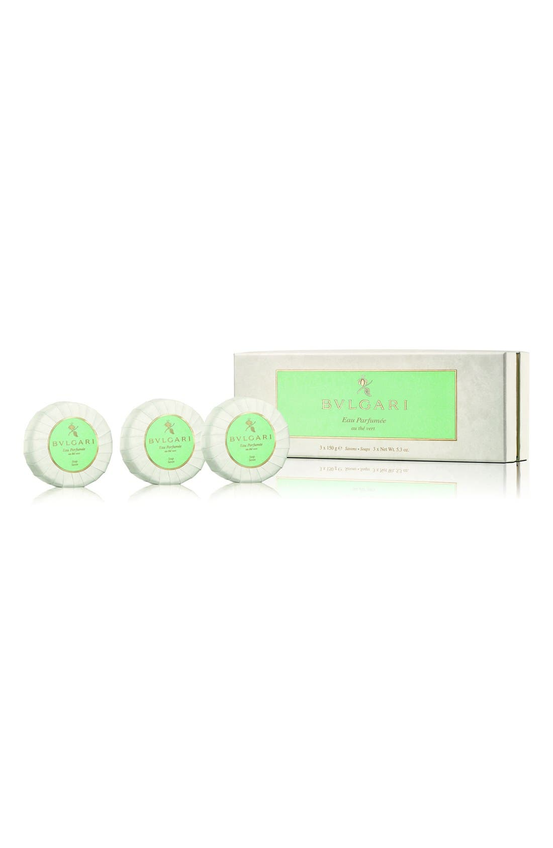 'Eau Parfumée au thé vert' Soap Set,                             Alternate thumbnail 2, color,                             NO COLOR