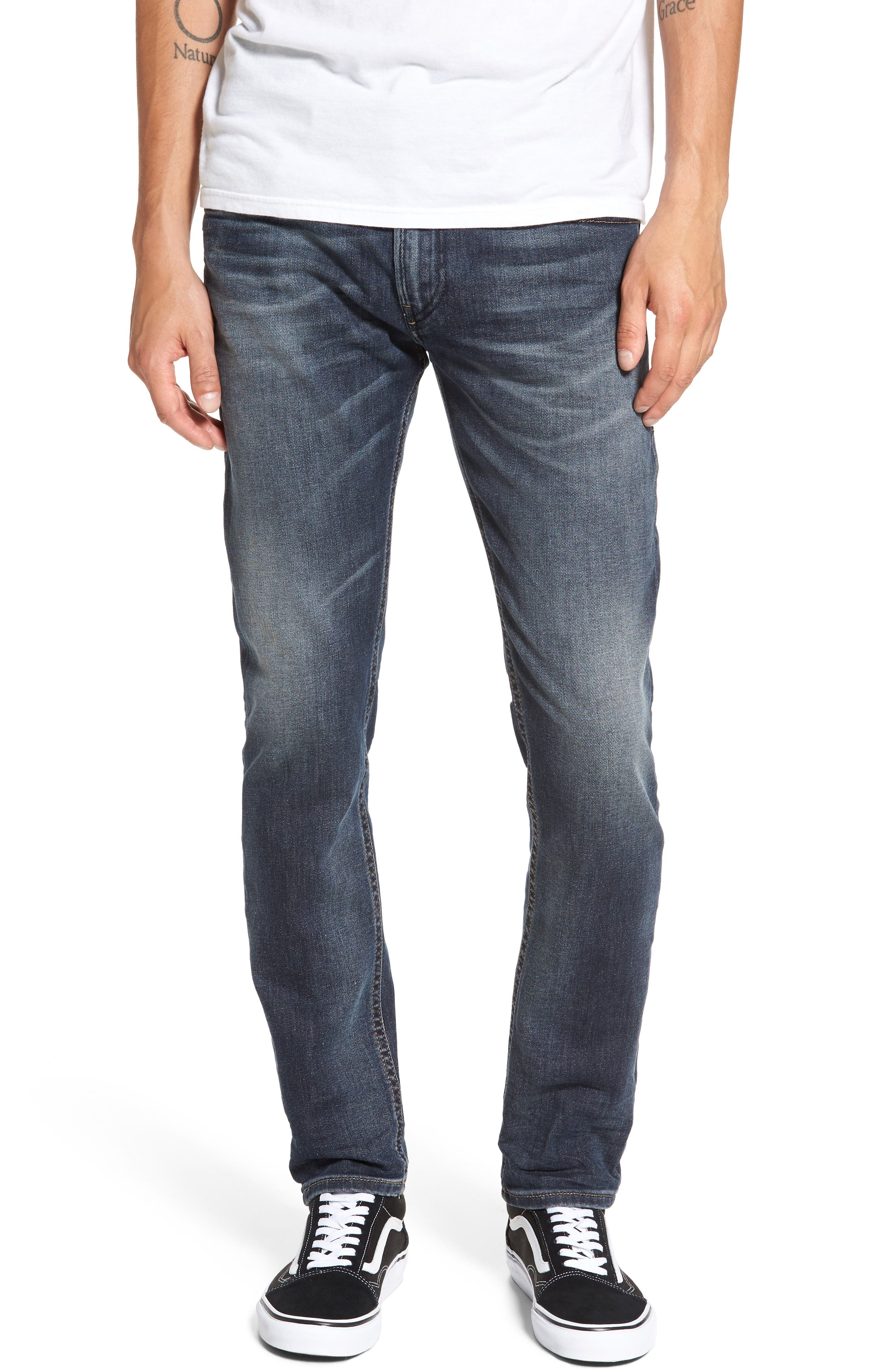 Thommer Slim Fit Jeans,                         Main,                         color, 400