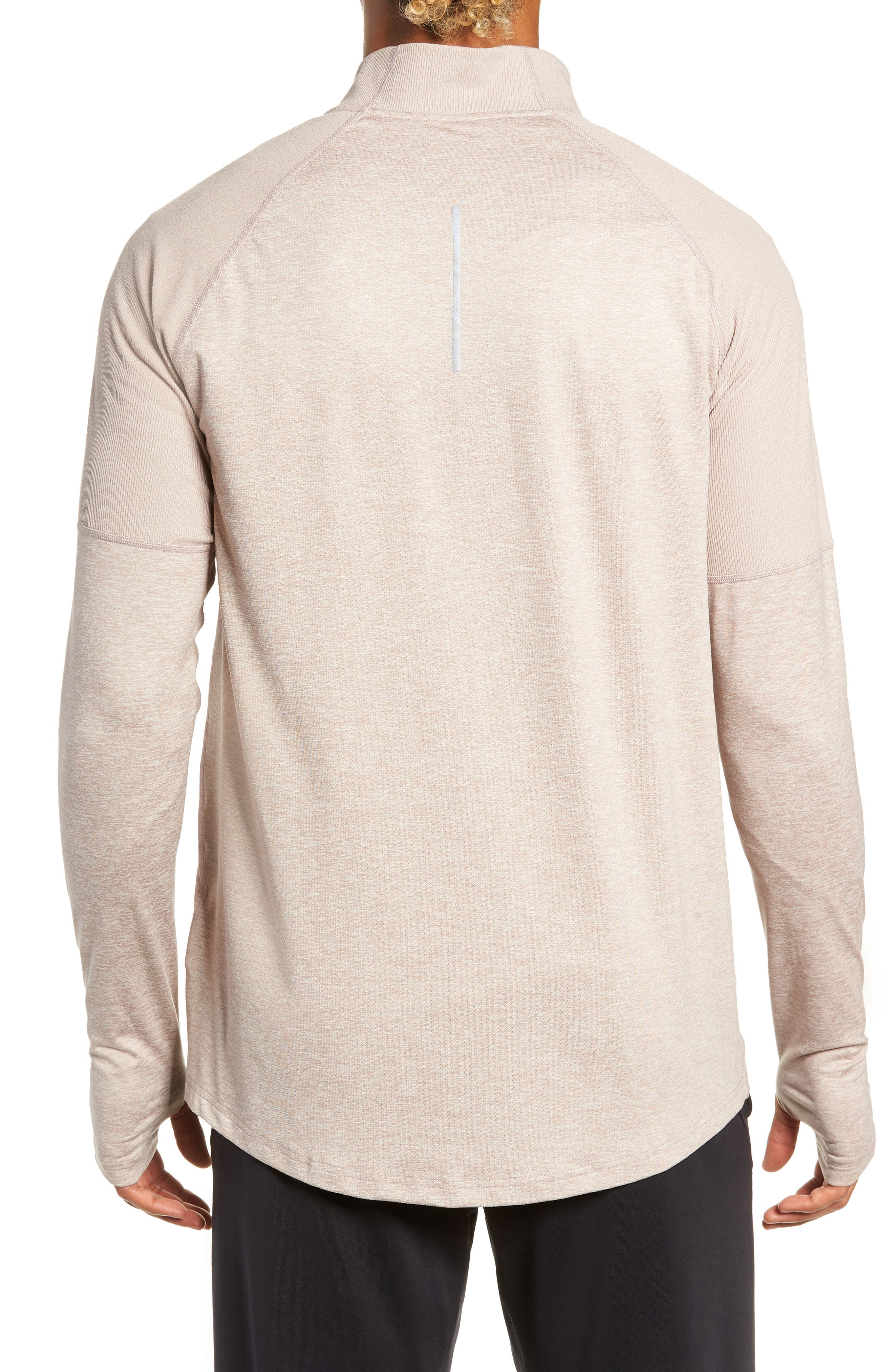 Element HZ 2.0 Performance Pullover,                             Alternate thumbnail 2, color,                             DIFFUSED TAUPE/ SAND/ HEATHER