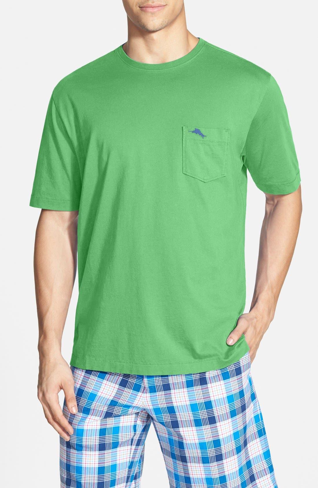 New Bali Sky Pima Cotton Pocket T-Shirt,                             Main thumbnail 10, color,