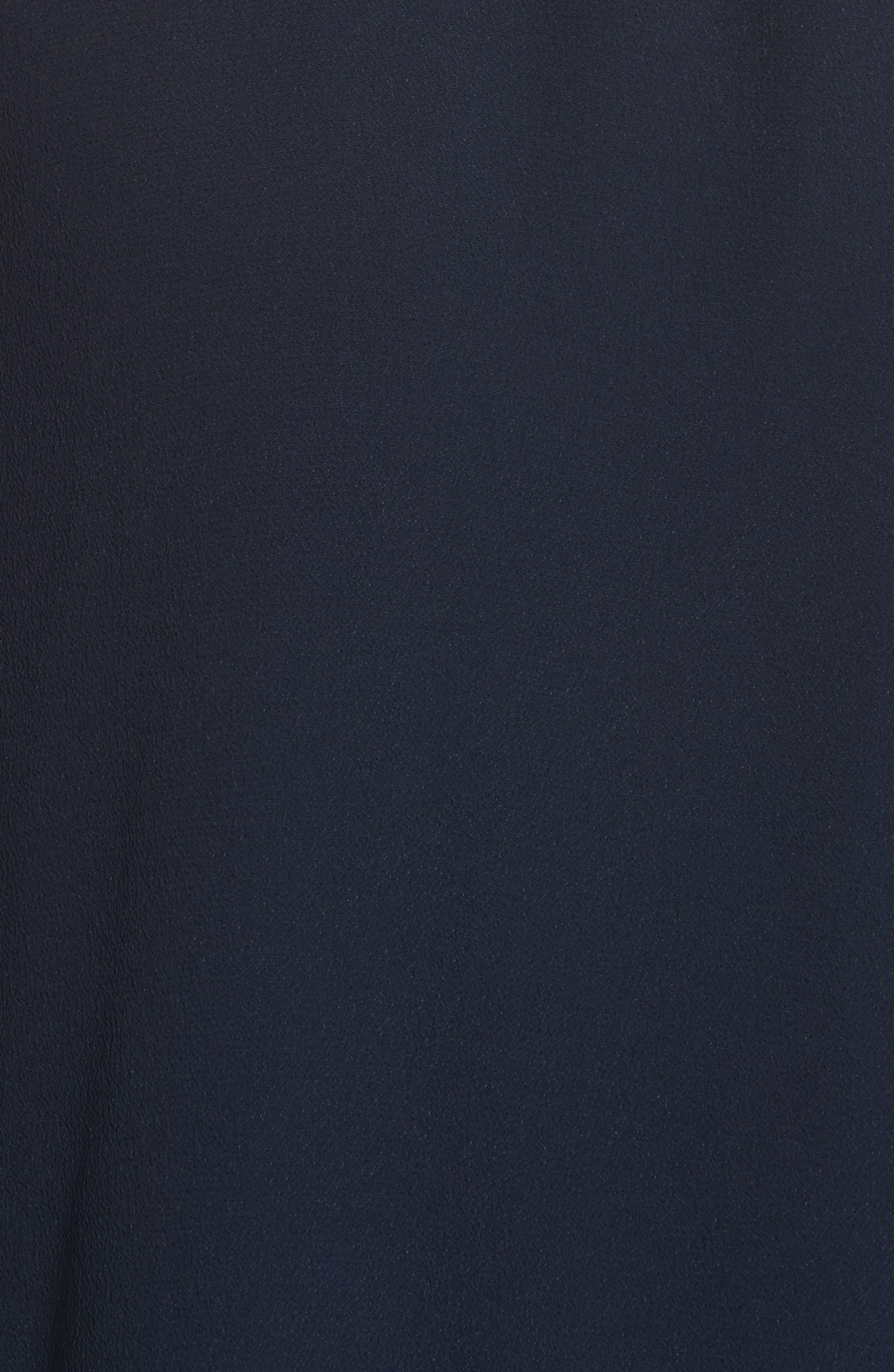 Ruffled Asymmetrical Dress,                             Alternate thumbnail 5, color,                             401