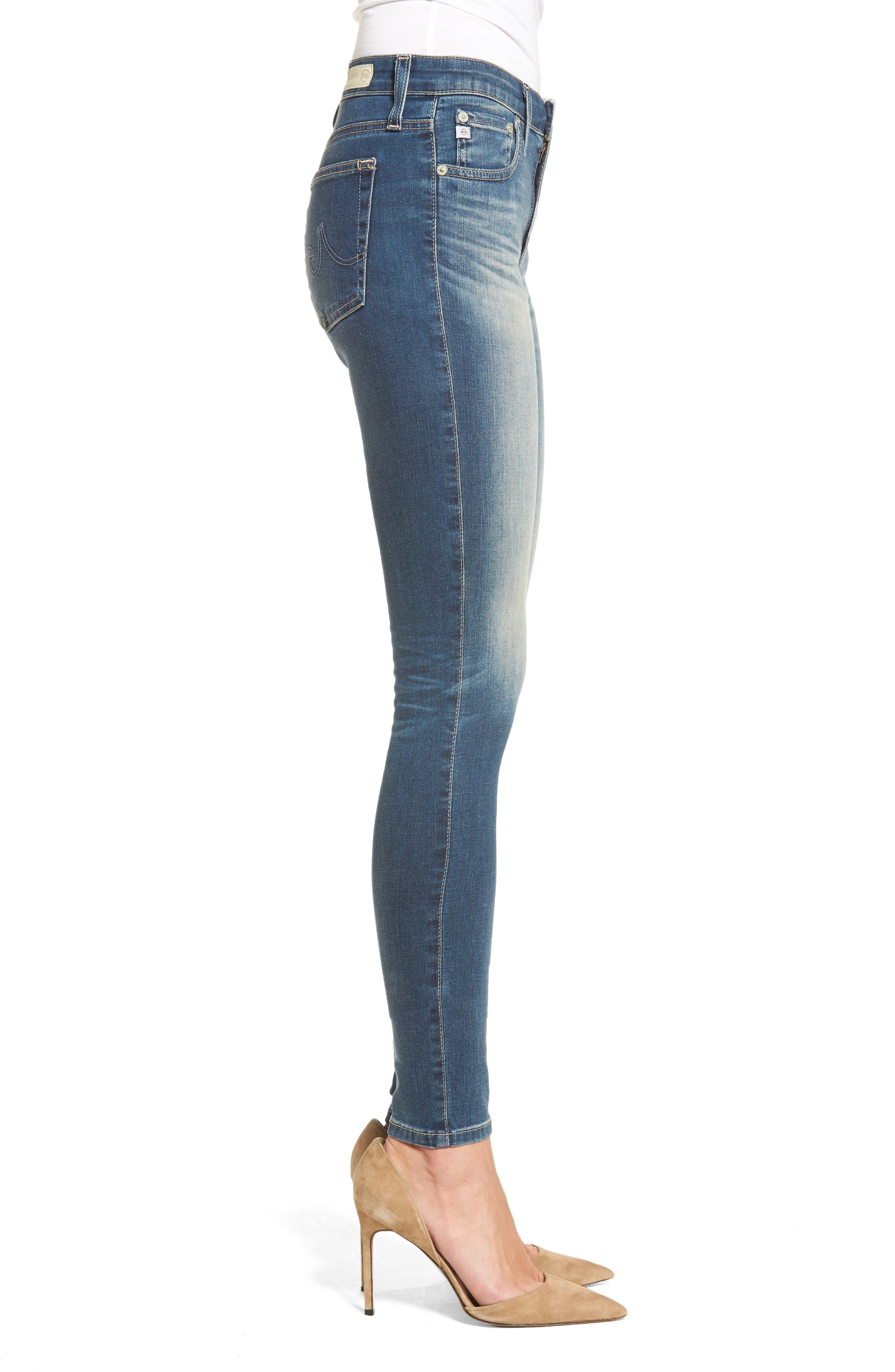 'The Farrah' High Rise Skinny Jeans,                             Alternate thumbnail 23, color,