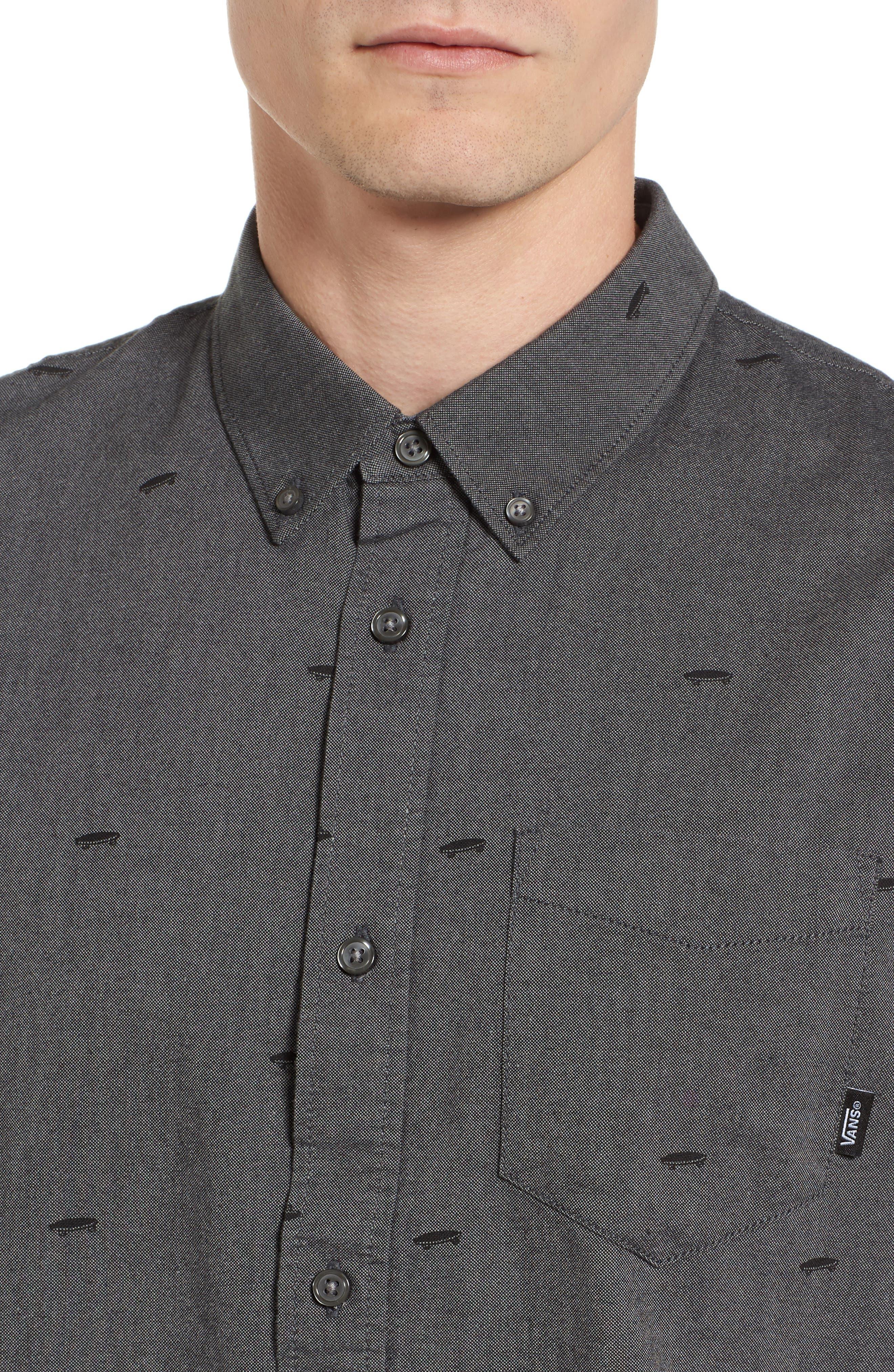 Houser Woven Shirt,                             Alternate thumbnail 4, color,                             001