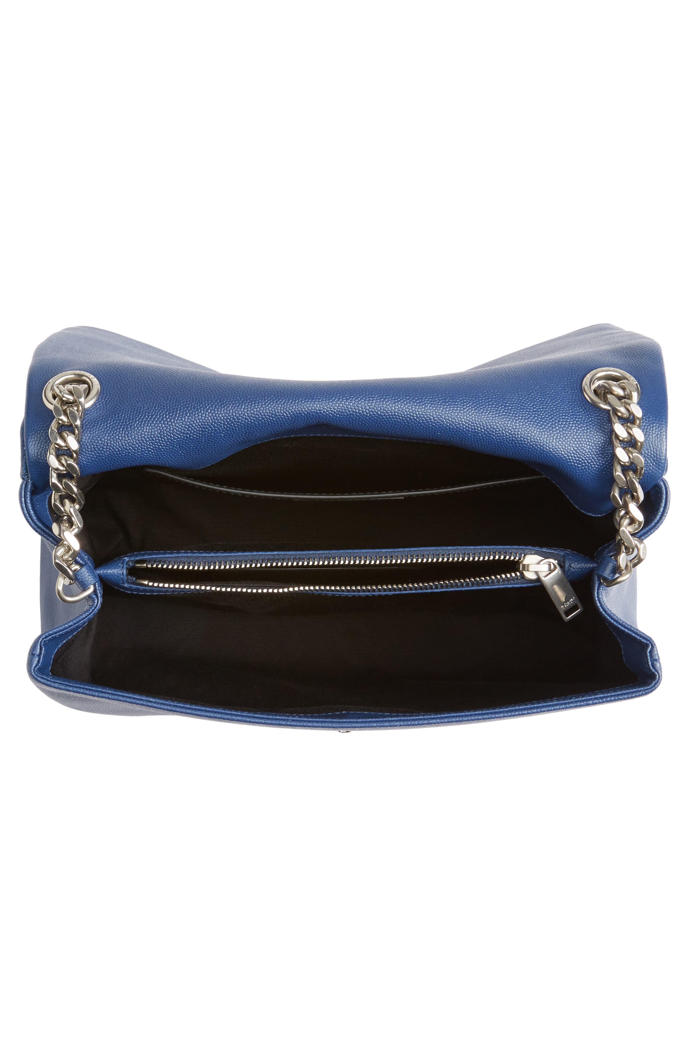 Medium West Hollywood Leather Shoulder Bag,                             Alternate thumbnail 11, color,