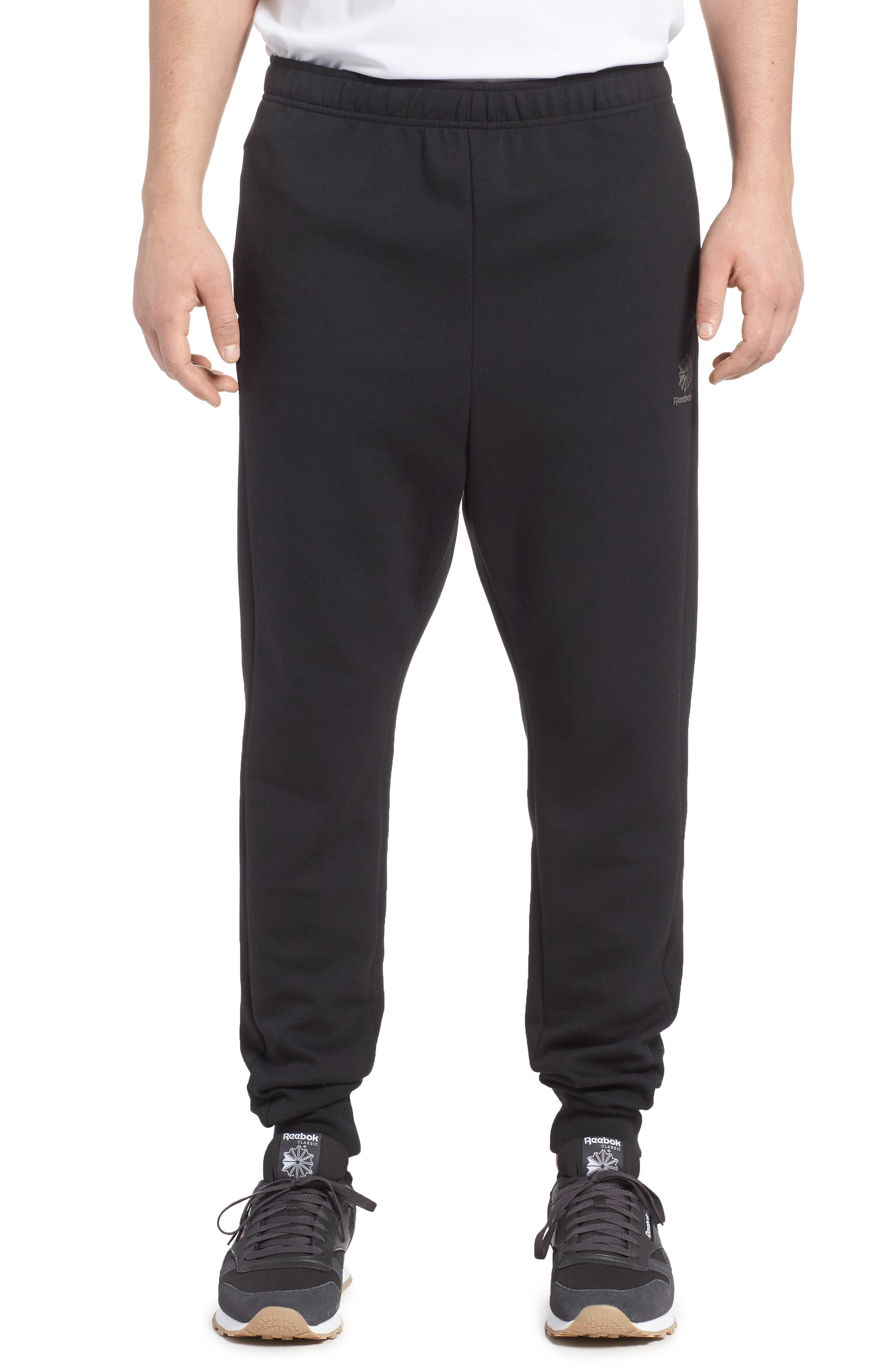 Classic Dynamic Knit Jogger Pants,                             Main thumbnail 1, color,                             005