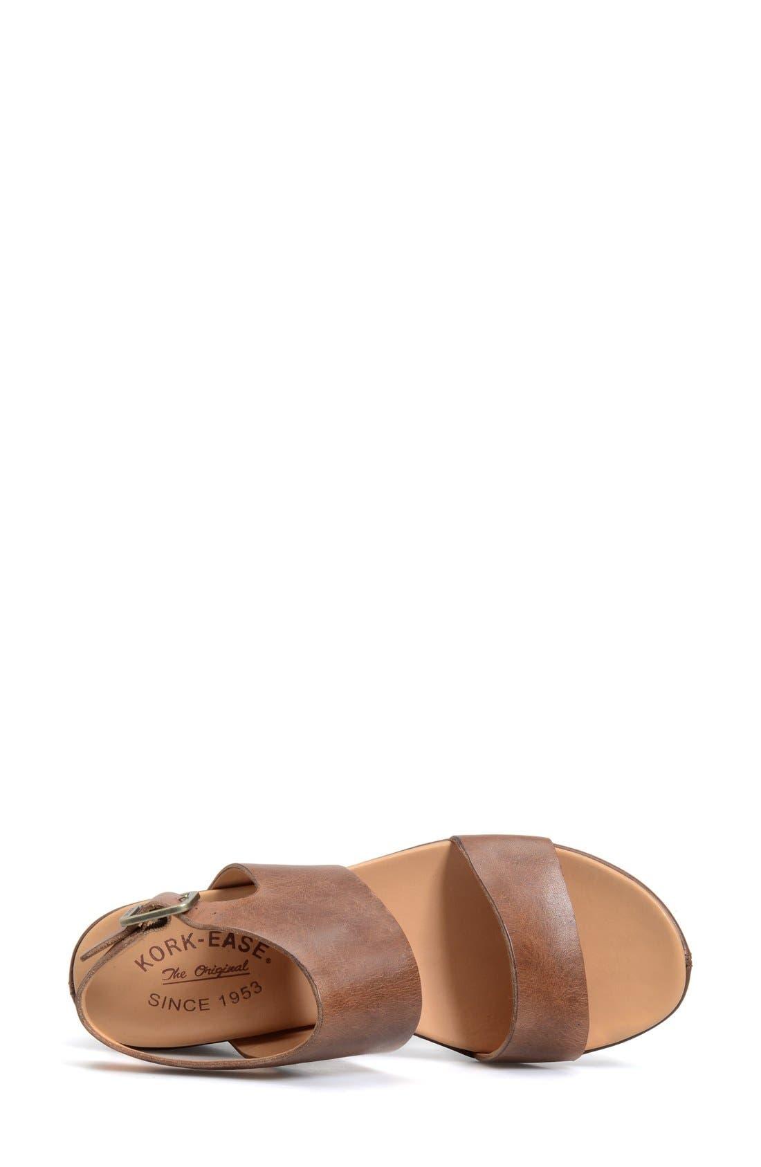 'Khloe' Platform Wedge Sandal,                             Alternate thumbnail 12, color,