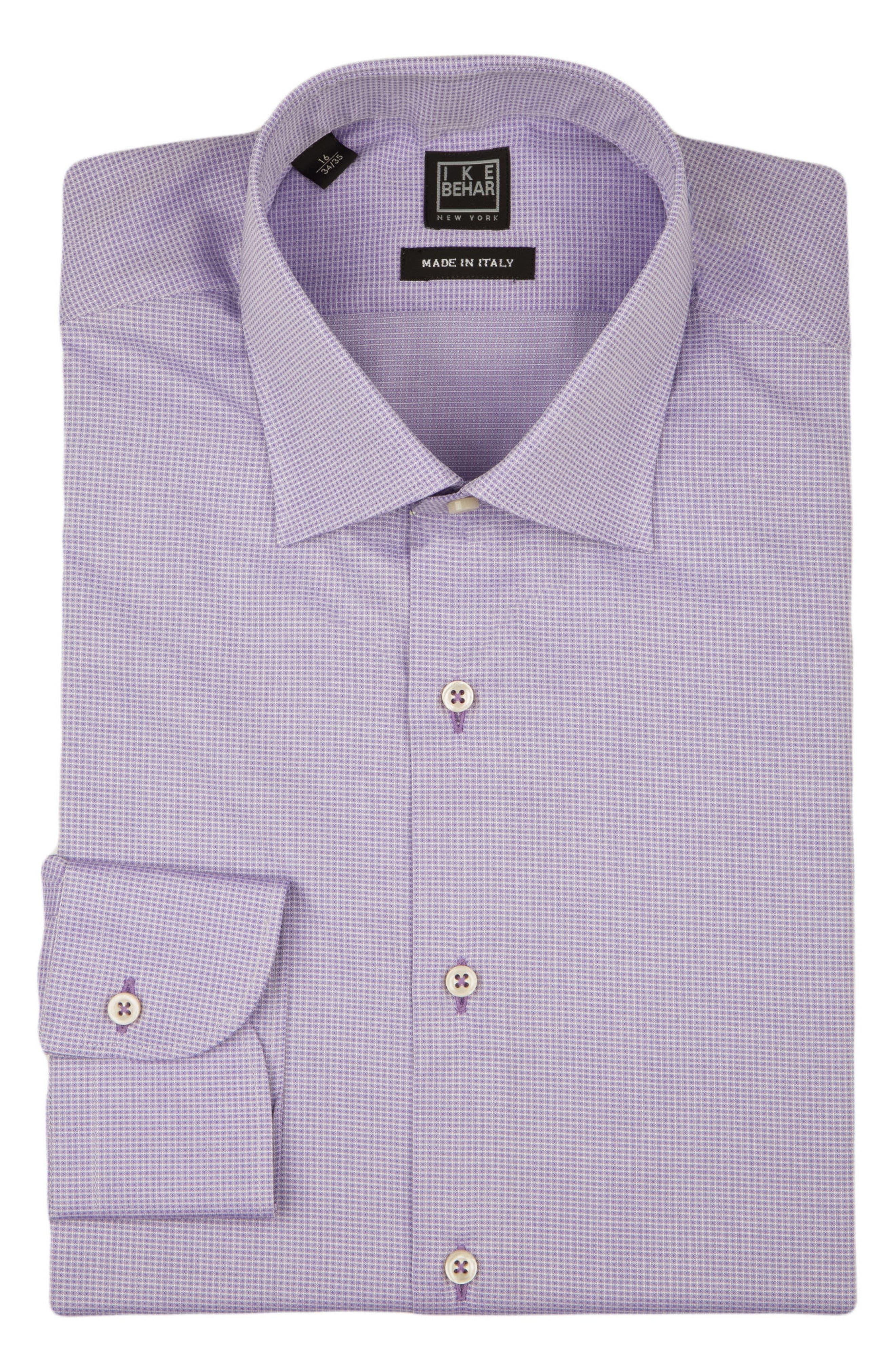 Regular Fit Solid Dress Shirt,                             Alternate thumbnail 5, color,                             500