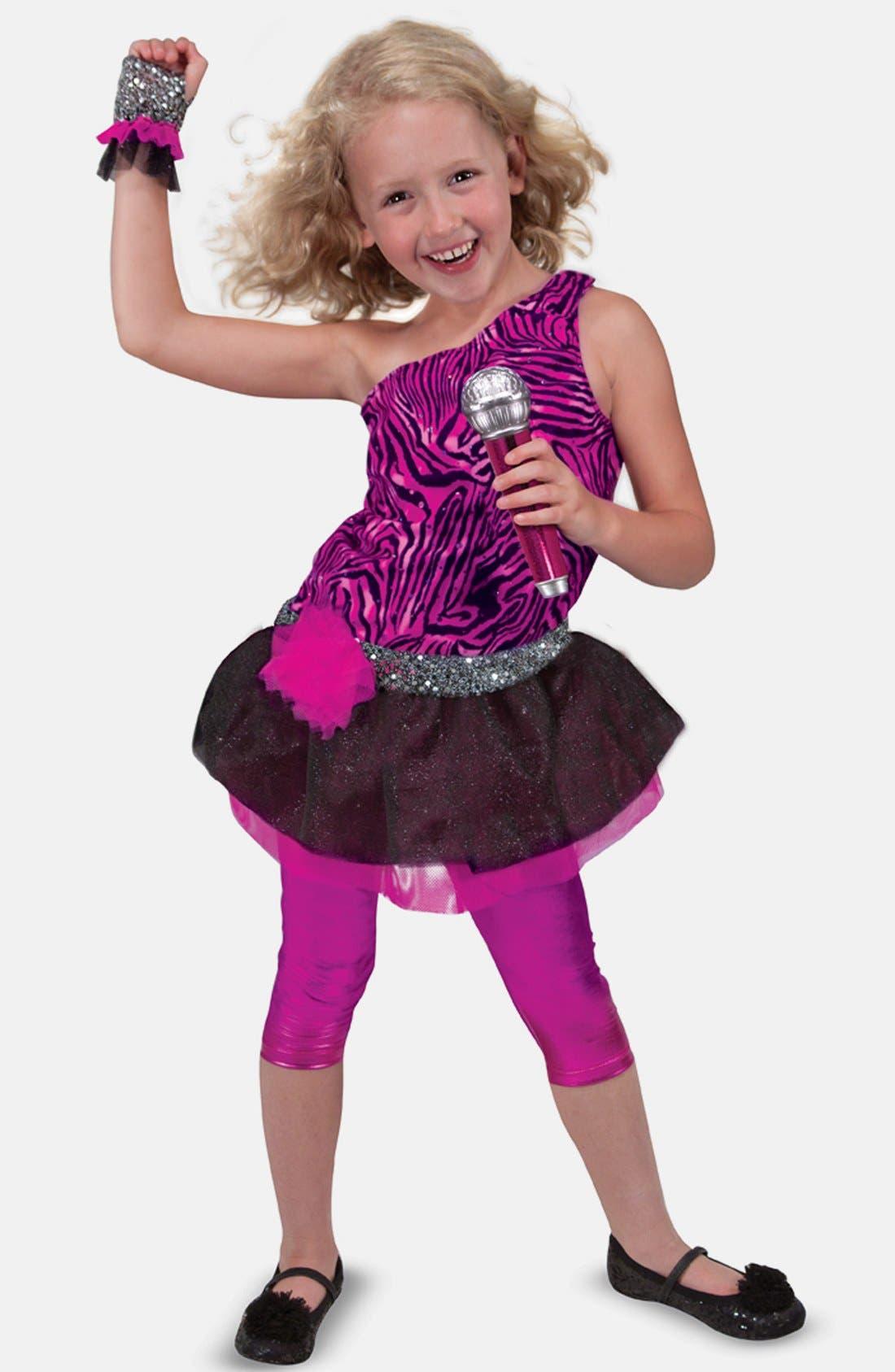 Girls Melissa  Doug Rock Star Role Play Set