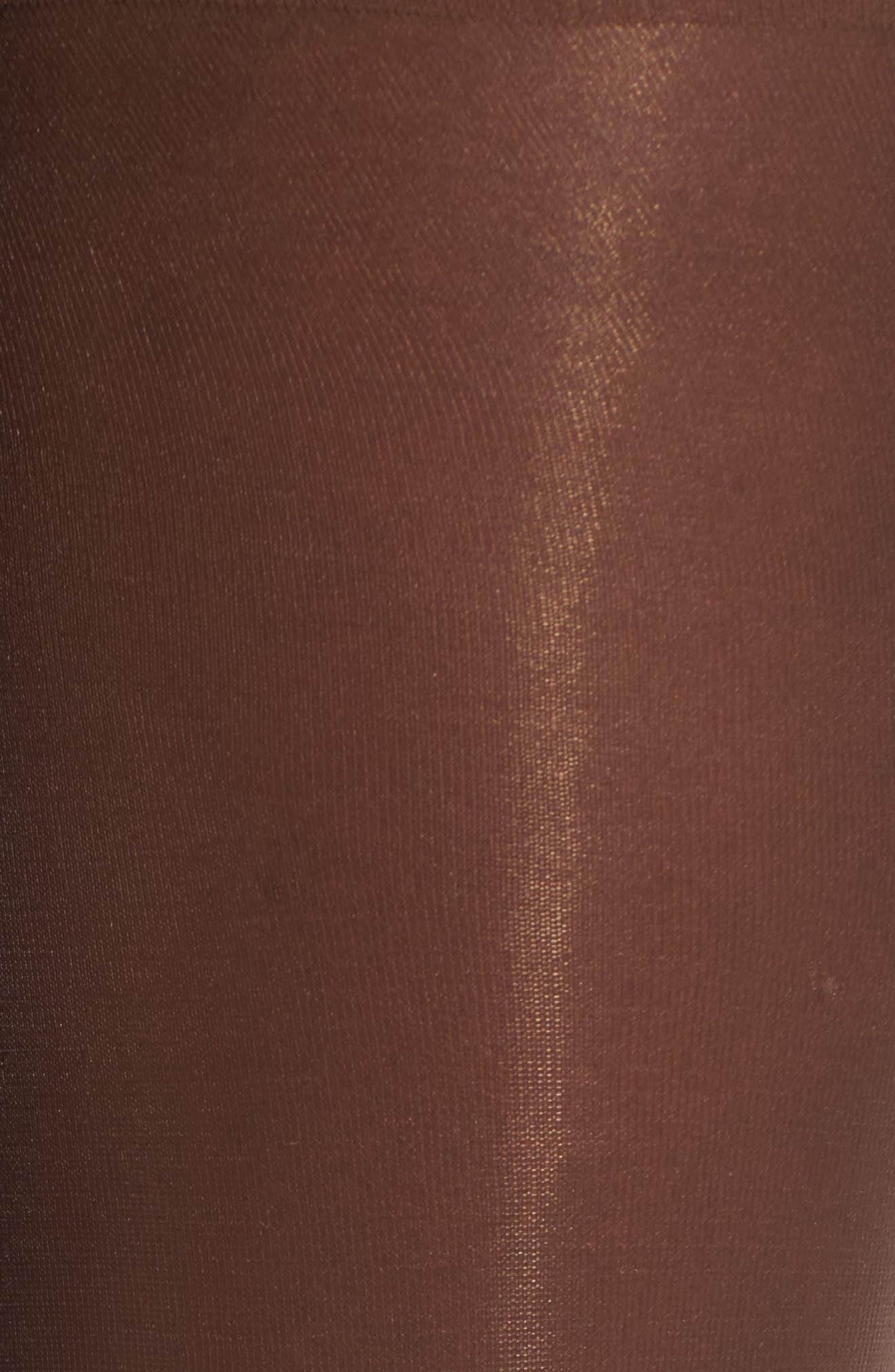 NUBIAN SKIN,                             Glossy Sheer Pantyhose,                             Alternate thumbnail 2, color,                             200