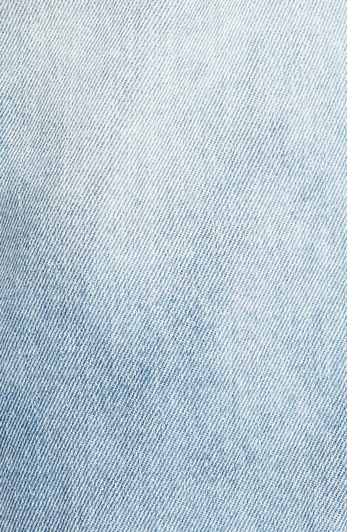 Le Sabre Slim Fit Jeans,                             Alternate thumbnail 5, color,                             454