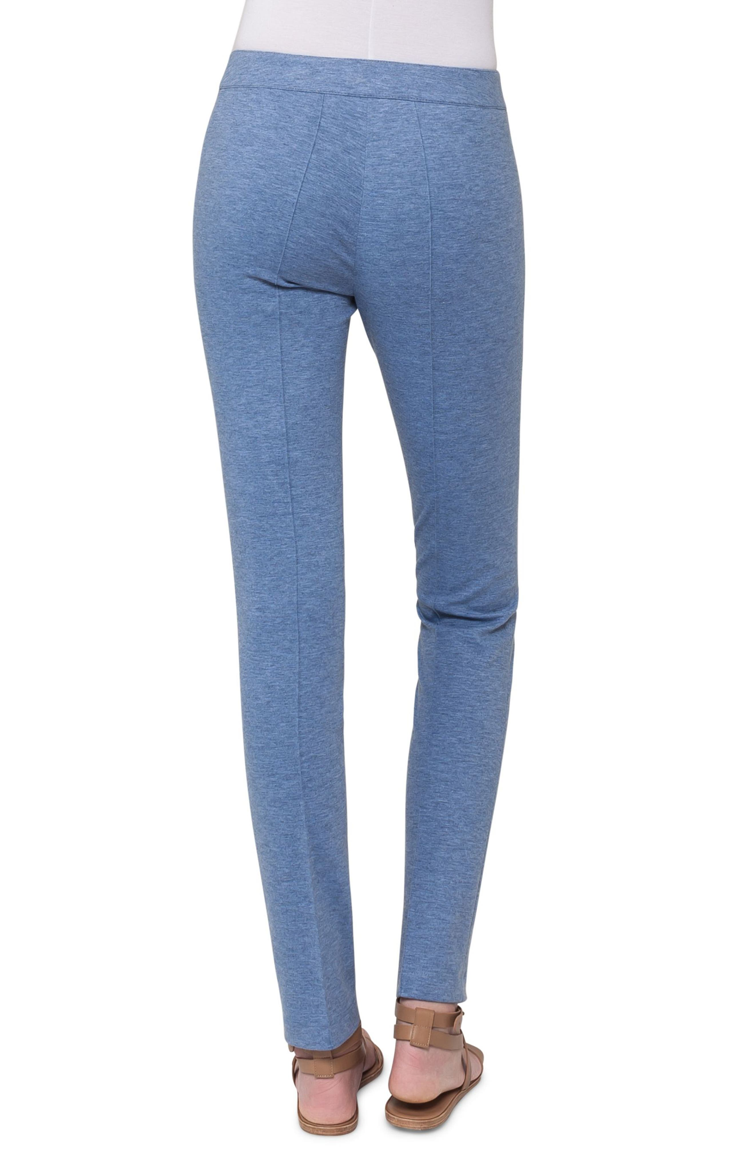 Mara Stretch Jersey Skinny Pants,                             Alternate thumbnail 4, color,