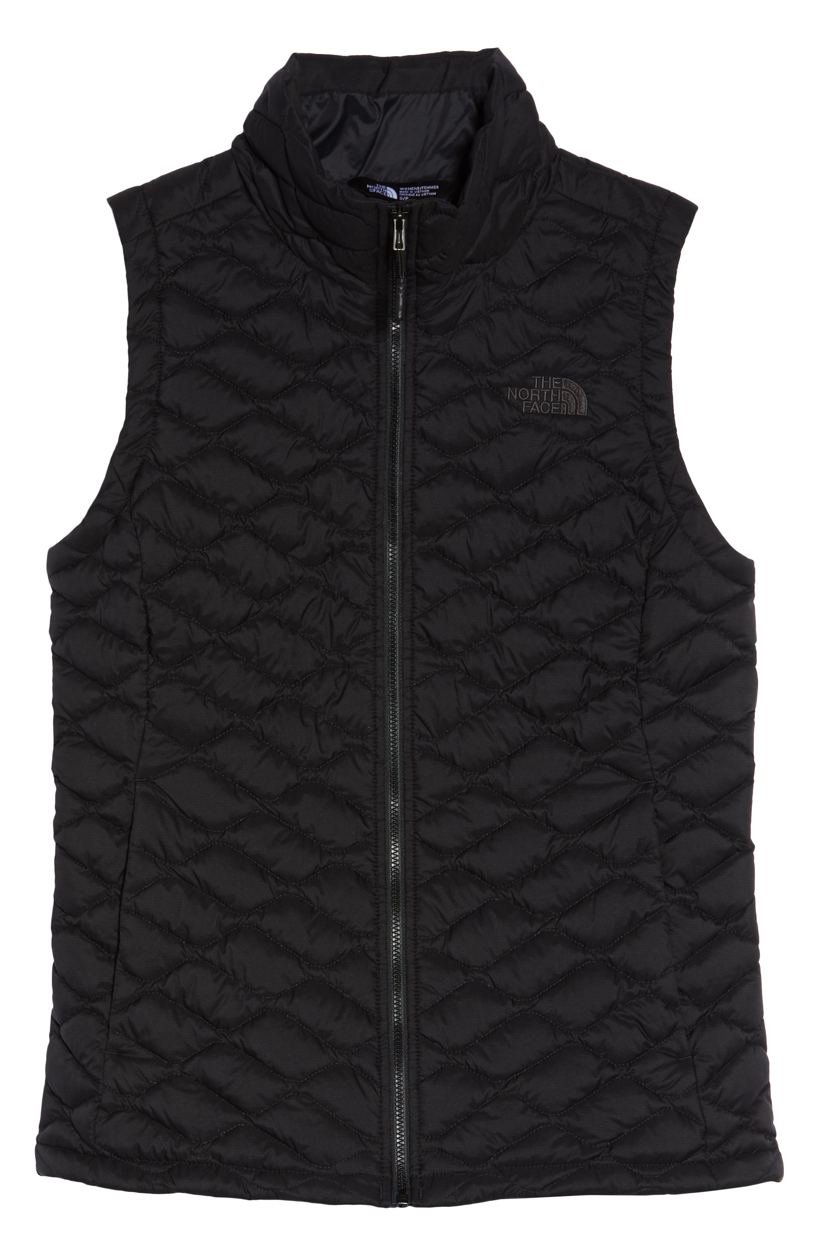 THE NORTH FACE,                             ThermoBall<sup>™</sup> PrimaLoft<sup>®</sup> Vest,                             Alternate thumbnail 6, color,                             TNF BLACK MATTE