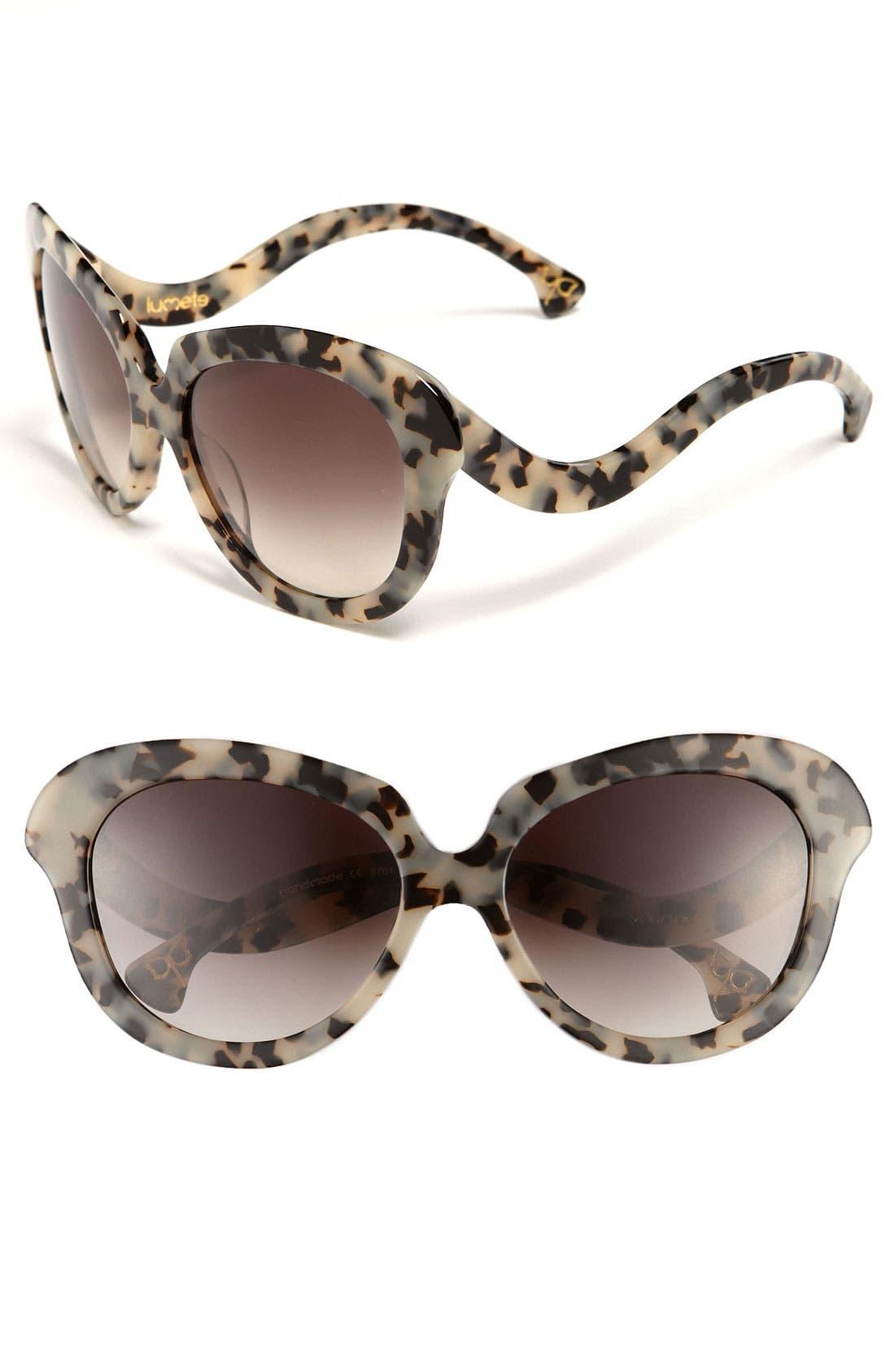 'Vedrina' Sunglasses, Main, color, 001