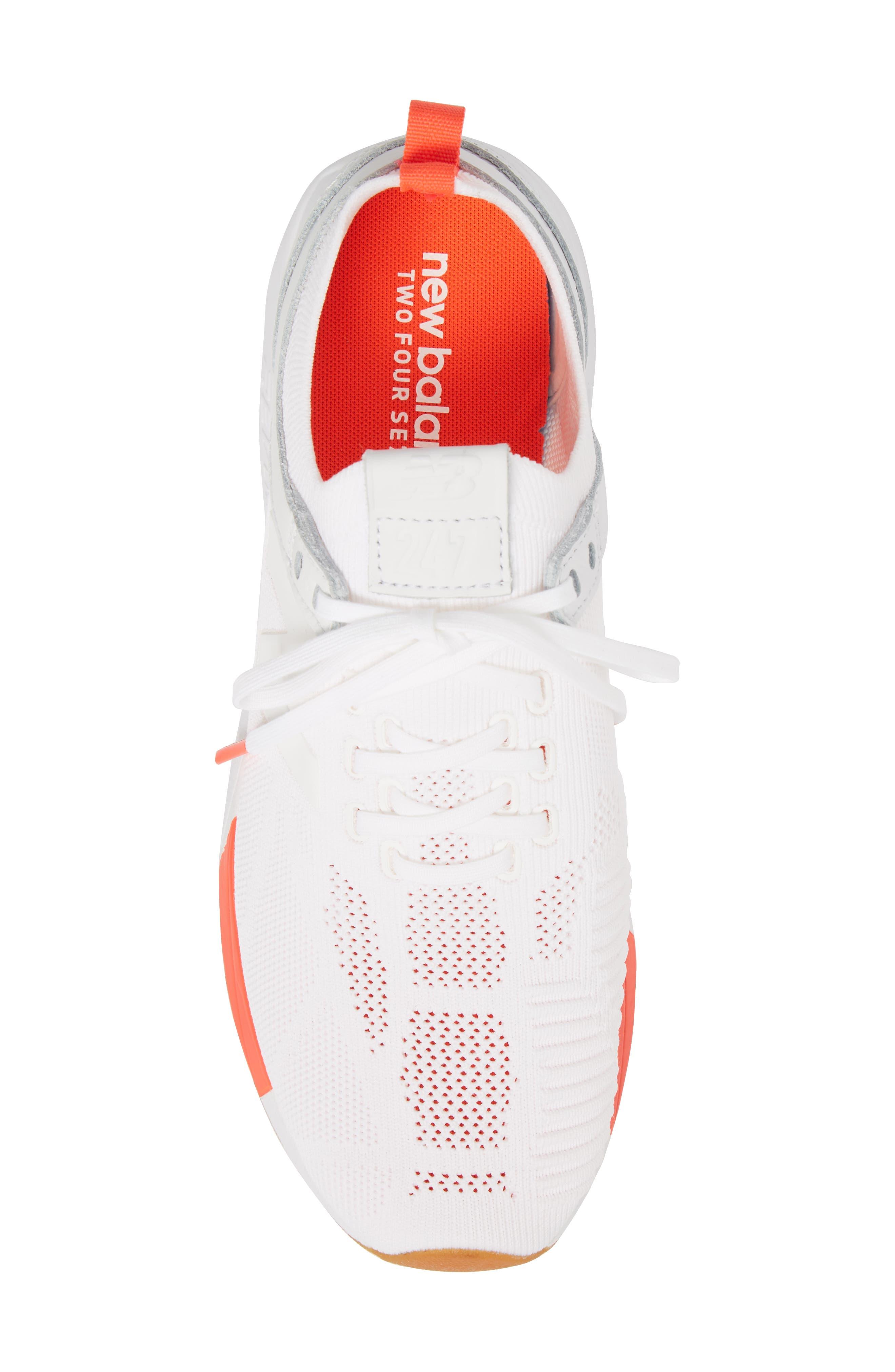 247 Sneaker,                             Alternate thumbnail 5, color,                             WHITE