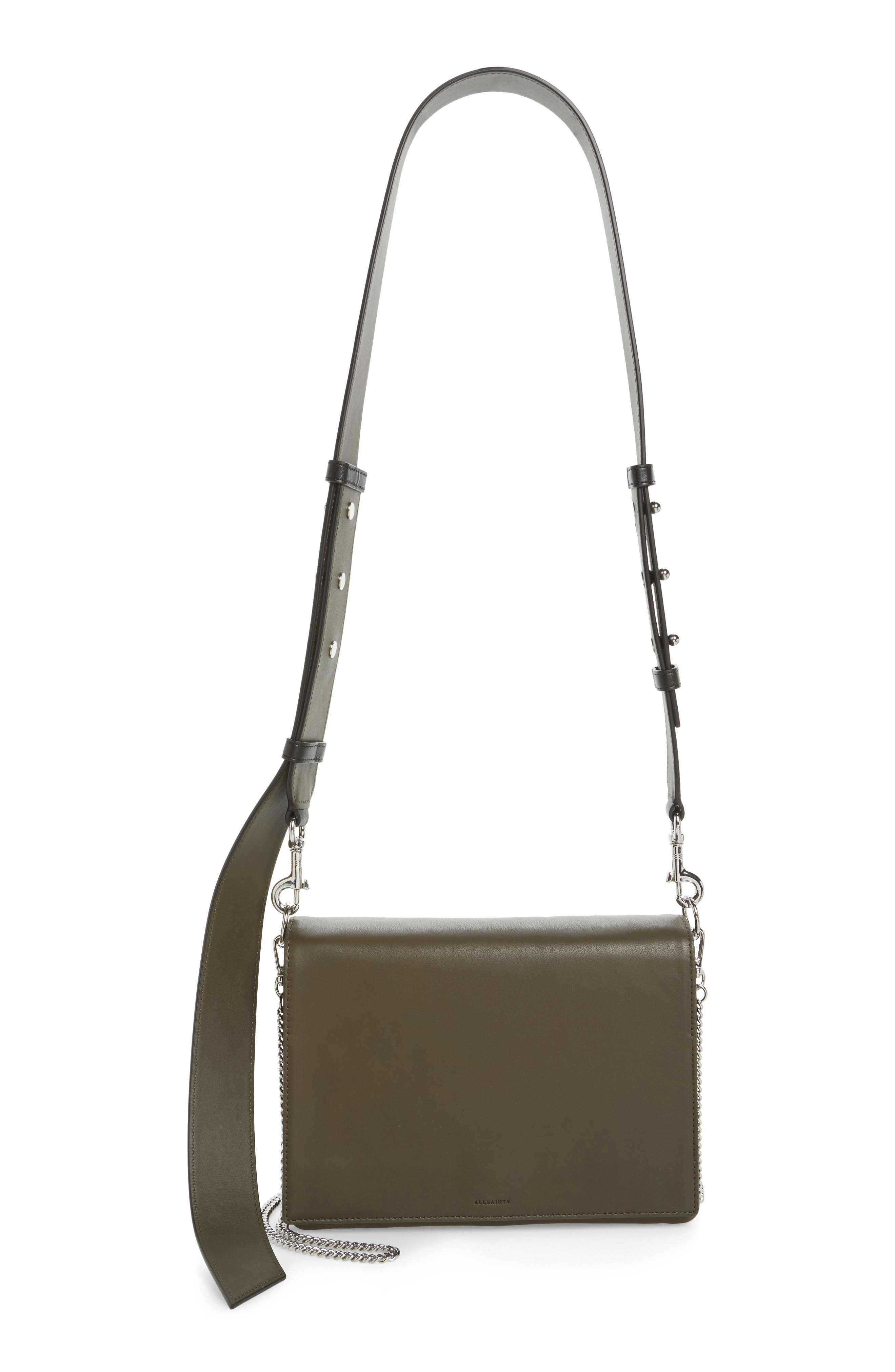 Zep Lambskin Leather Box Bag,                         Main,                         color,