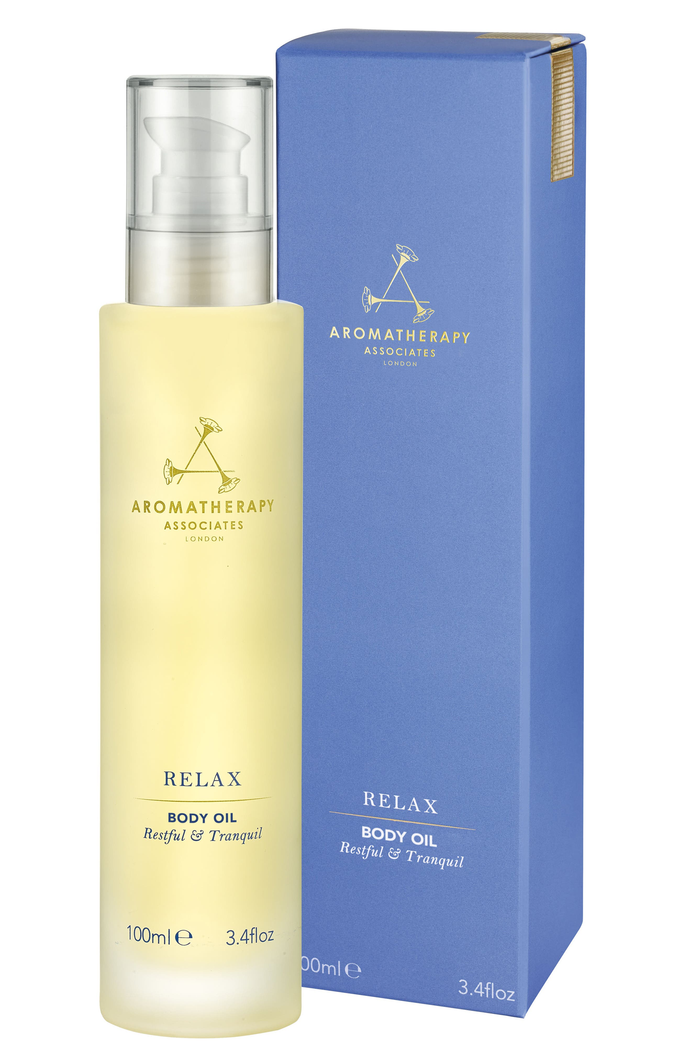 Relax Body Oil,                             Main thumbnail 1, color,                             RELAX