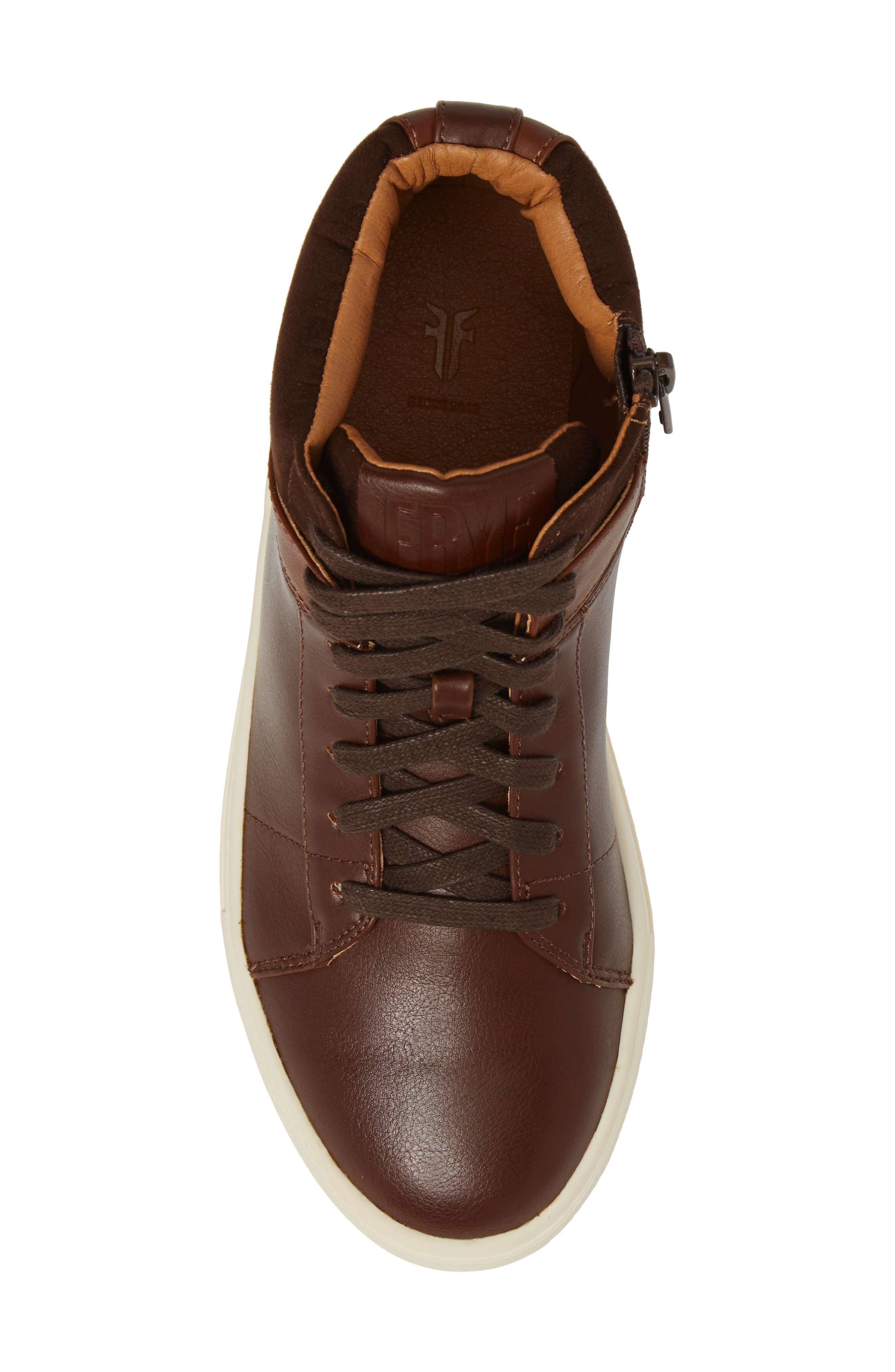 Mark High Top Sneaker,                             Alternate thumbnail 5, color,