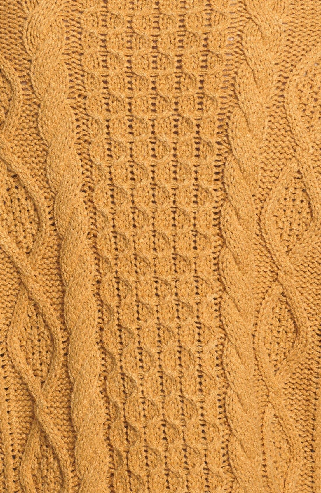 'Chalet Girl' Sweater Dress,                             Alternate thumbnail 3, color,                             700