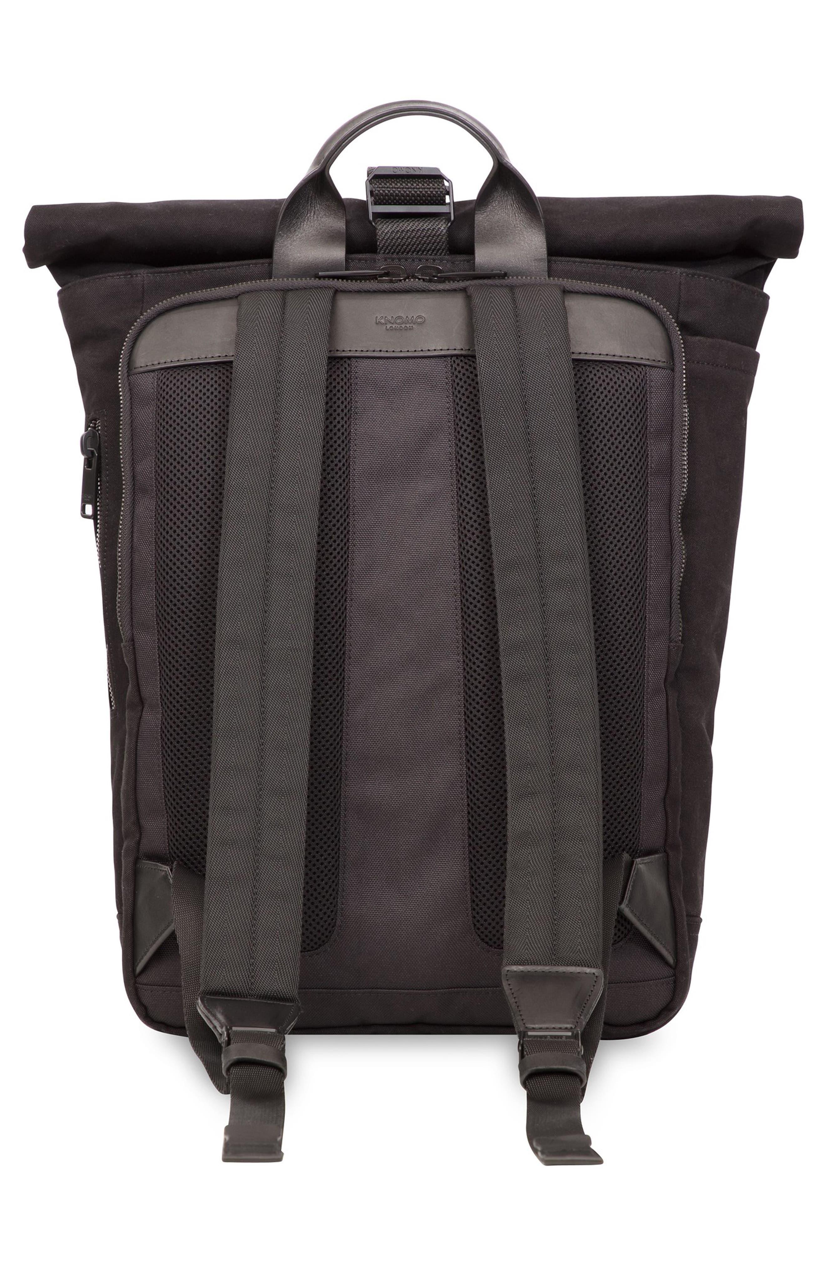 Fulham Novello Backpack,                             Alternate thumbnail 2, color,                             BLACK