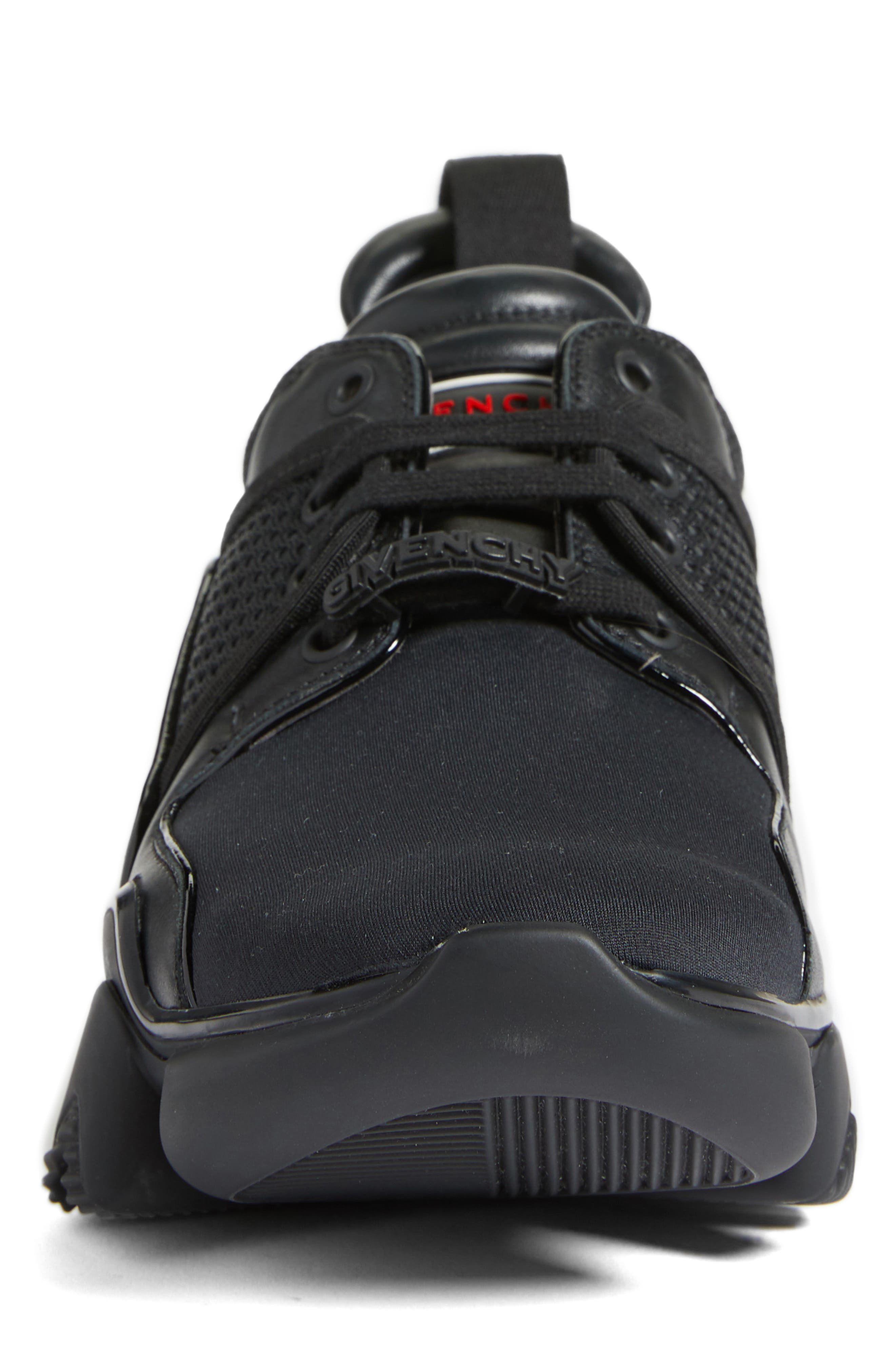 Jaw Sneaker,                             Alternate thumbnail 4, color,                             BLACK