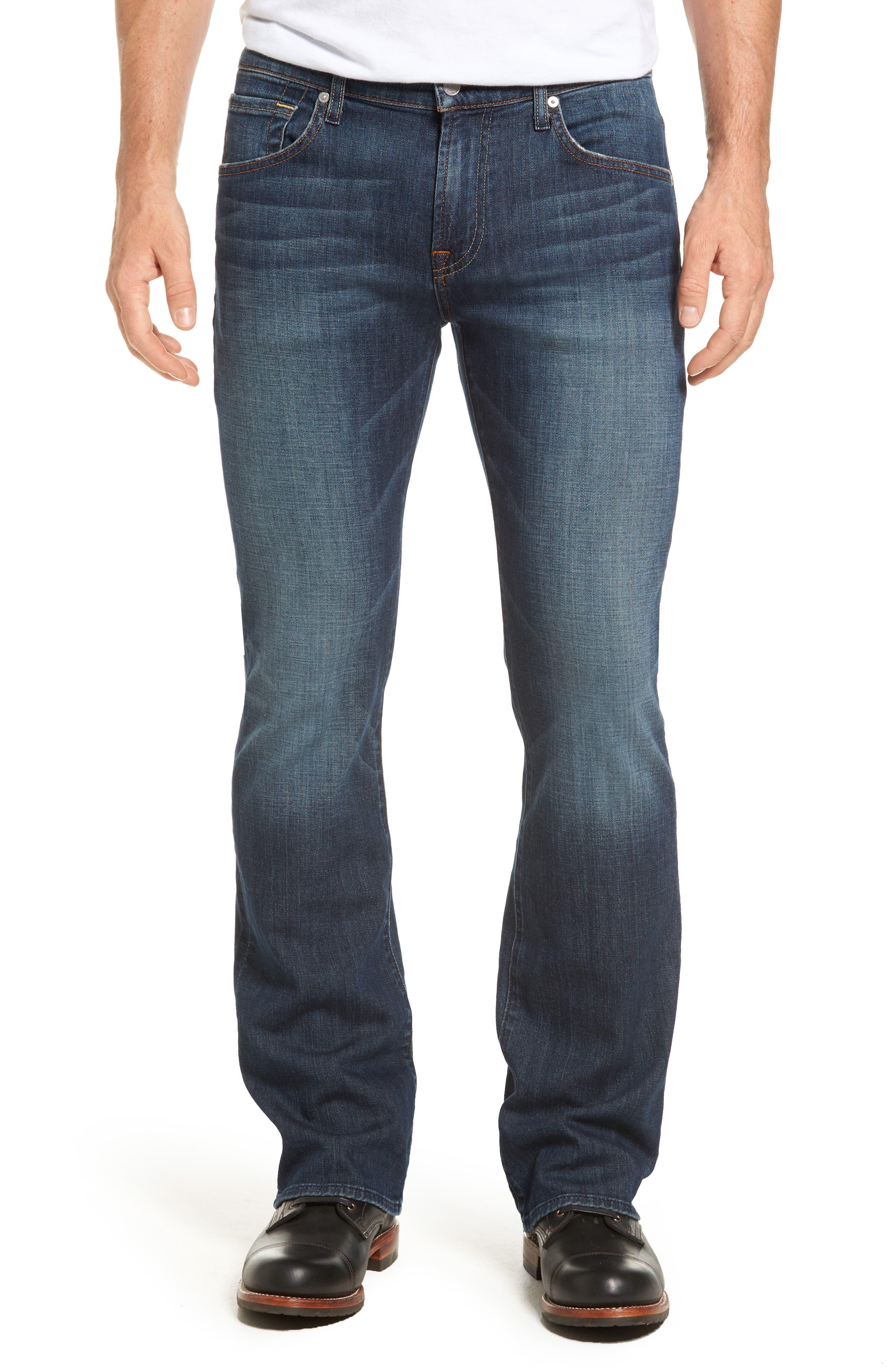 Brett Bootcut Jeans,                             Main thumbnail 1, color,                             DARK NEW YORK