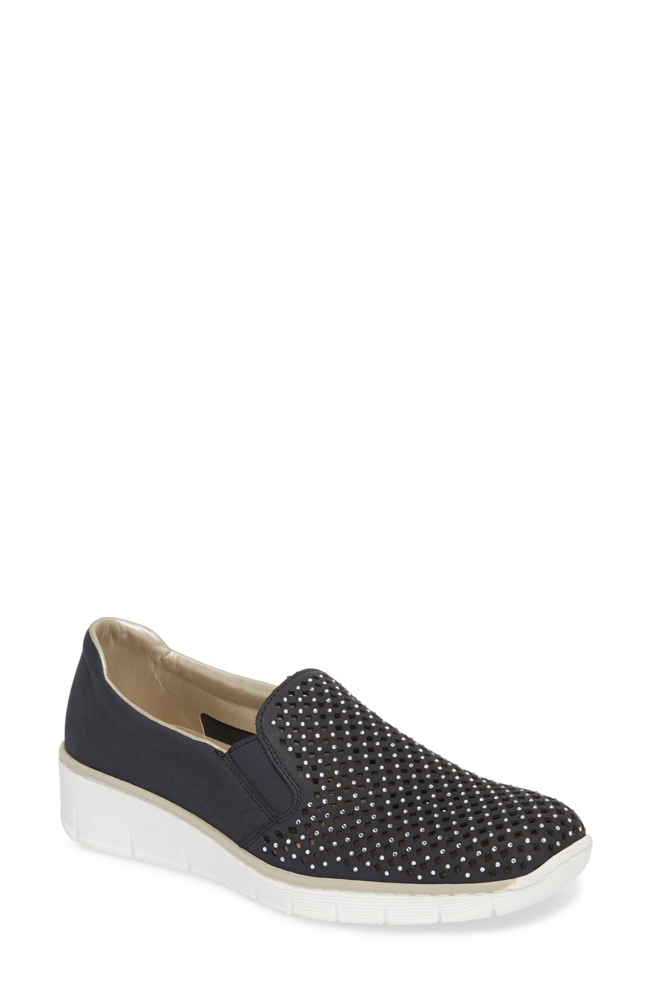 Doris A6 Wedge Sneaker,                             Main thumbnail 1, color,                             401