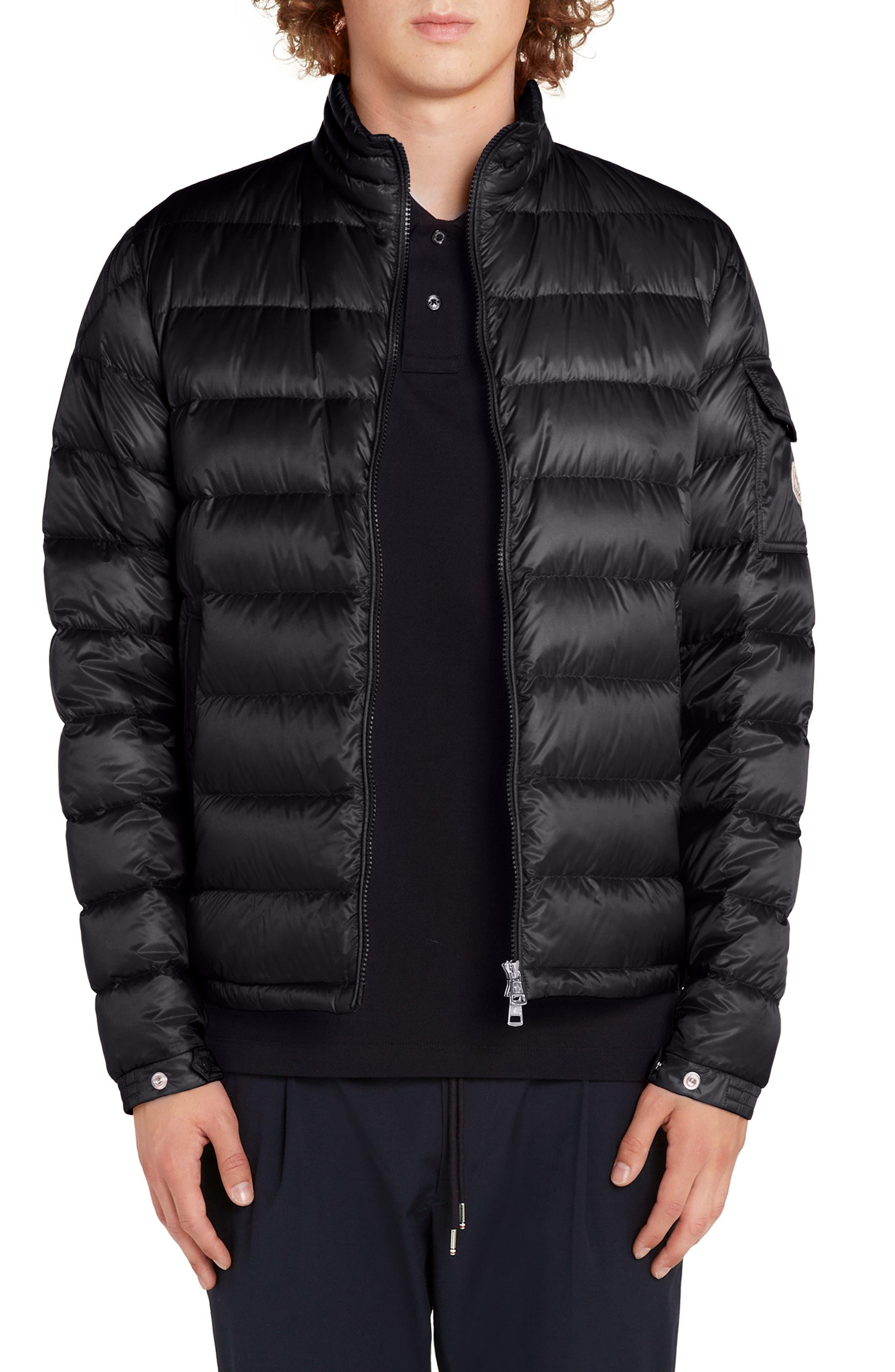Moncler Lambot Zip Up Jacket, Blue