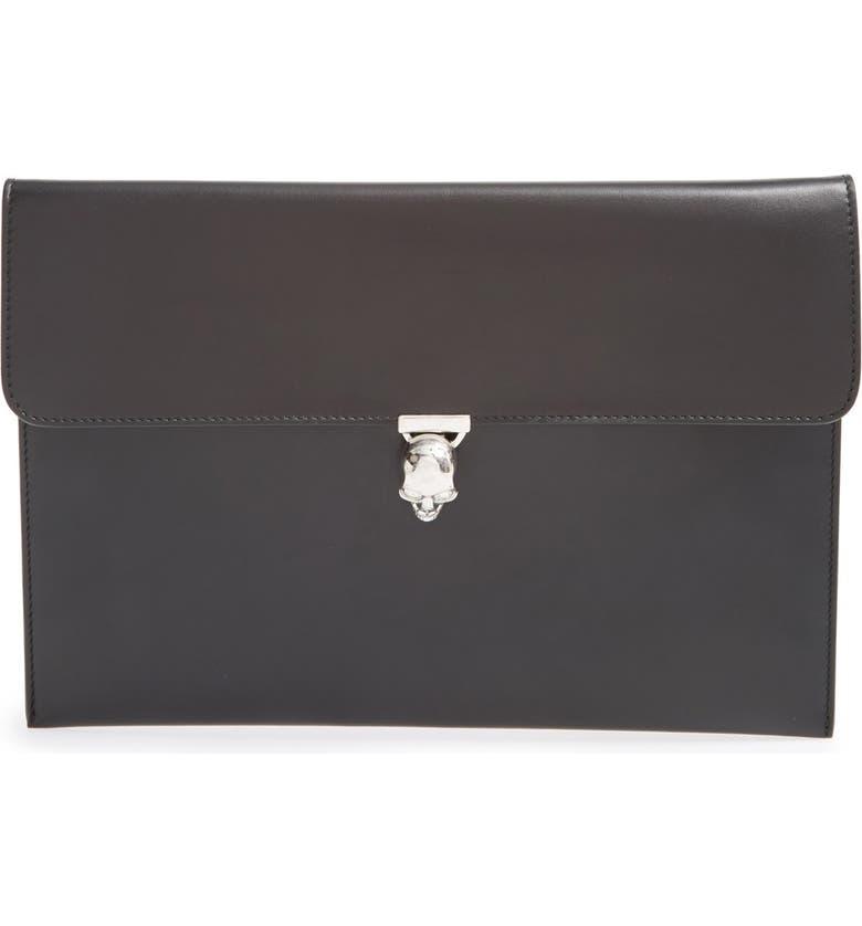 333ad75f6c Alexander McQueen  Skull  Envelope Clutch