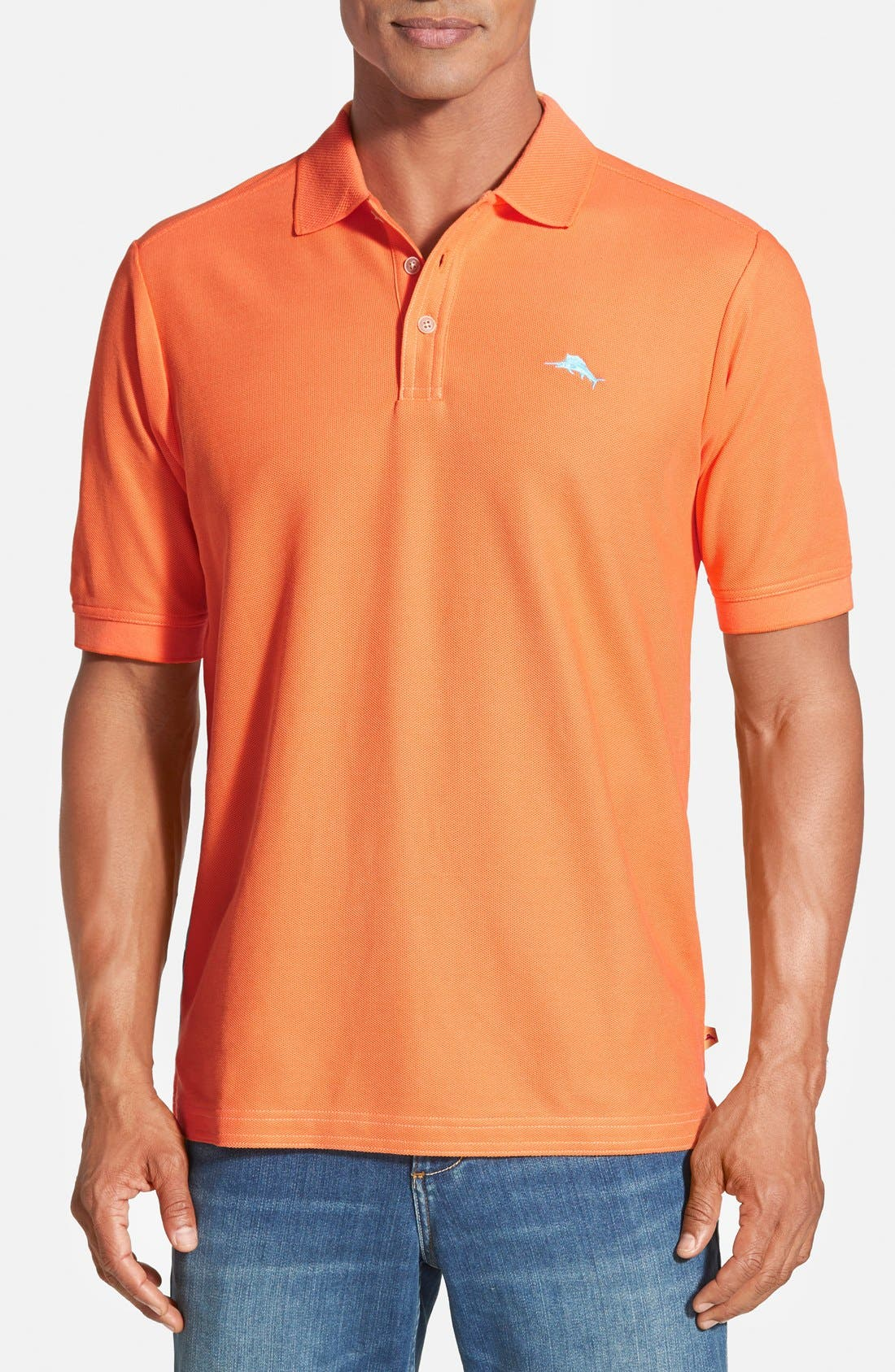'The Emfielder' Original Fit Piqué Polo,                             Main thumbnail 118, color,