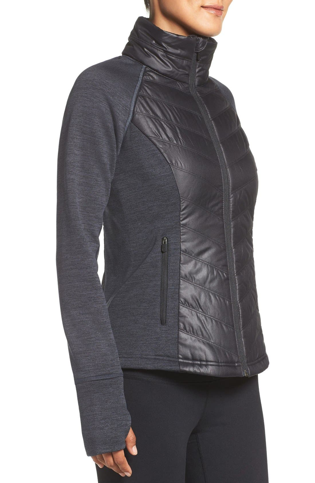 Zelfusion Reflective Quilted Jacket,                             Alternate thumbnail 39, color,