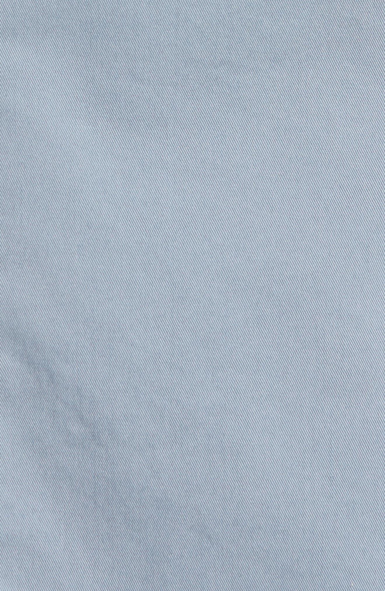 BOSS,                             Hanry-D Trim Fit Stretch Cotton Blazer,                             Alternate thumbnail 6, color,                             BLUE