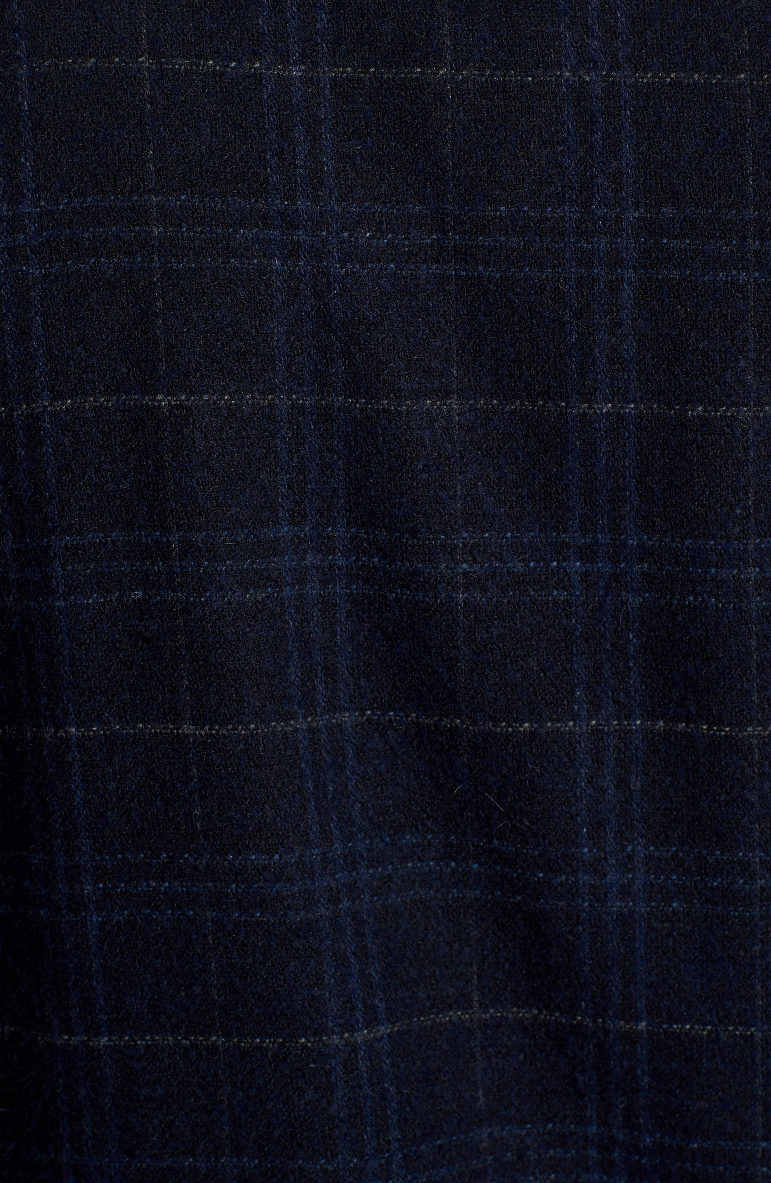 WAX LONDON,                             Witham Coach's Jacket,                             Alternate thumbnail 7, color,                             NAVY CHECK
