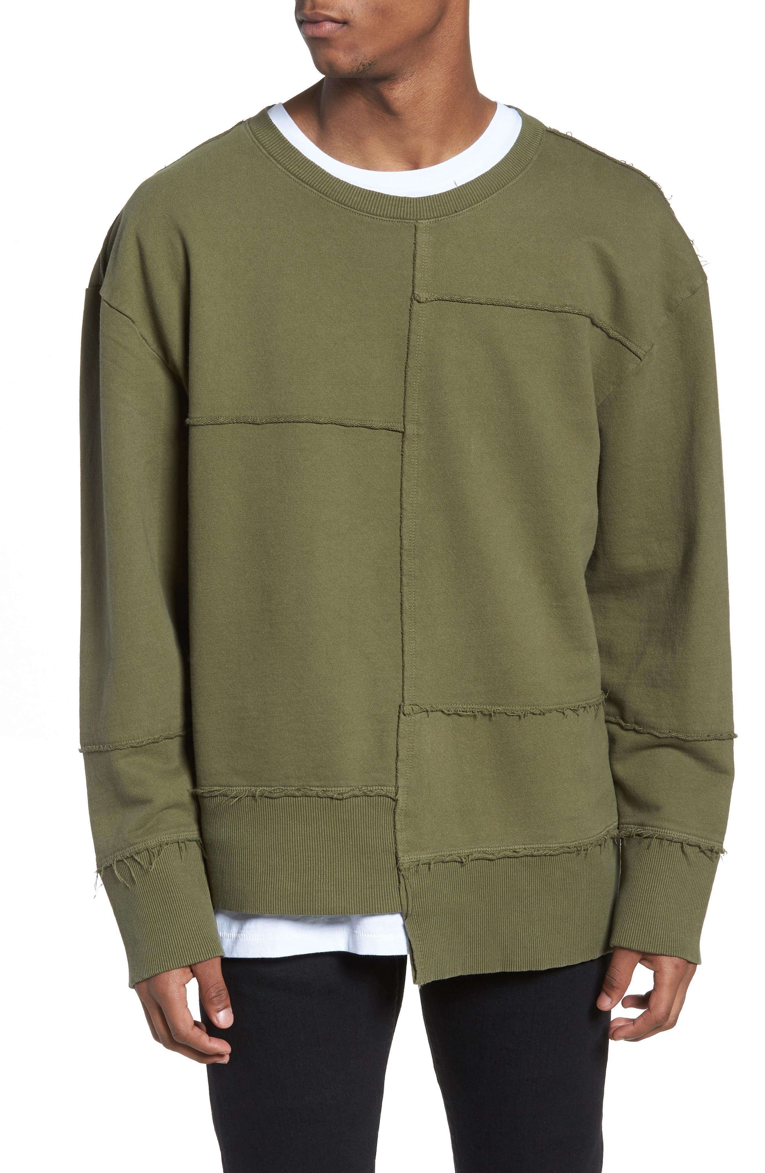 Splice Sweatshirt,                         Main,                         color, 311