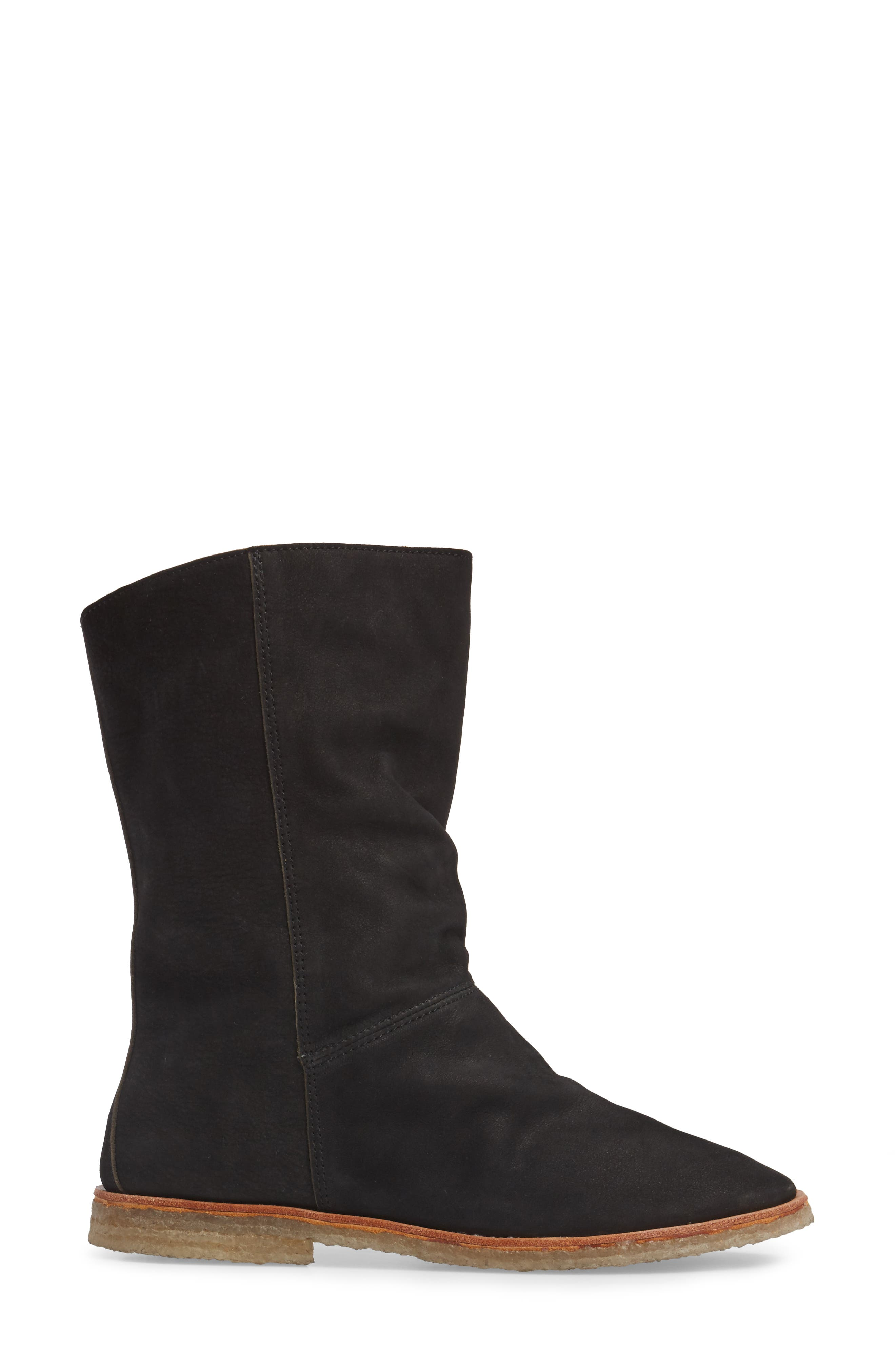 Owl Slouchy Bootie,                             Alternate thumbnail 3, color,                             001