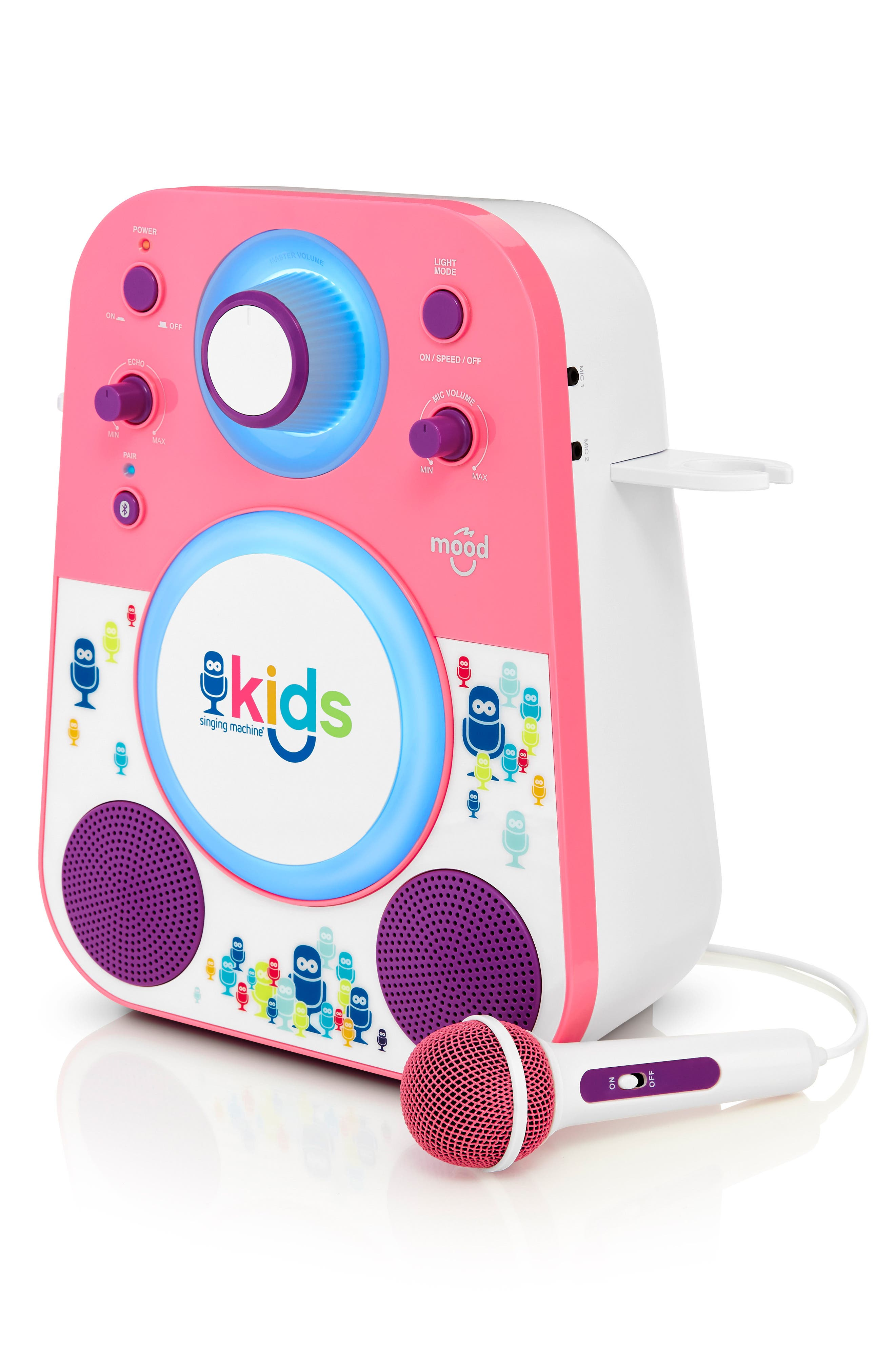 Kids Mood Karaoke System,                             Alternate thumbnail 8, color,                             PINK PURPLE