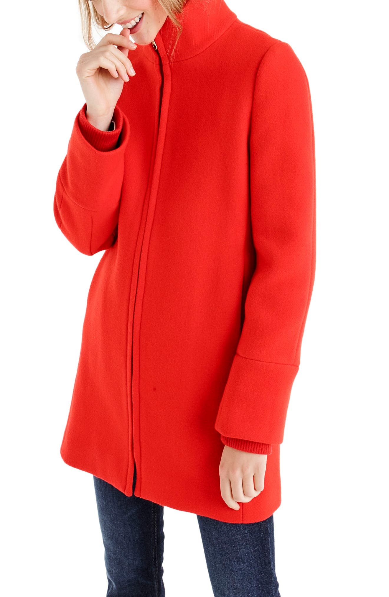 Yulia Wool Blend Coat,                             Alternate thumbnail 10, color,