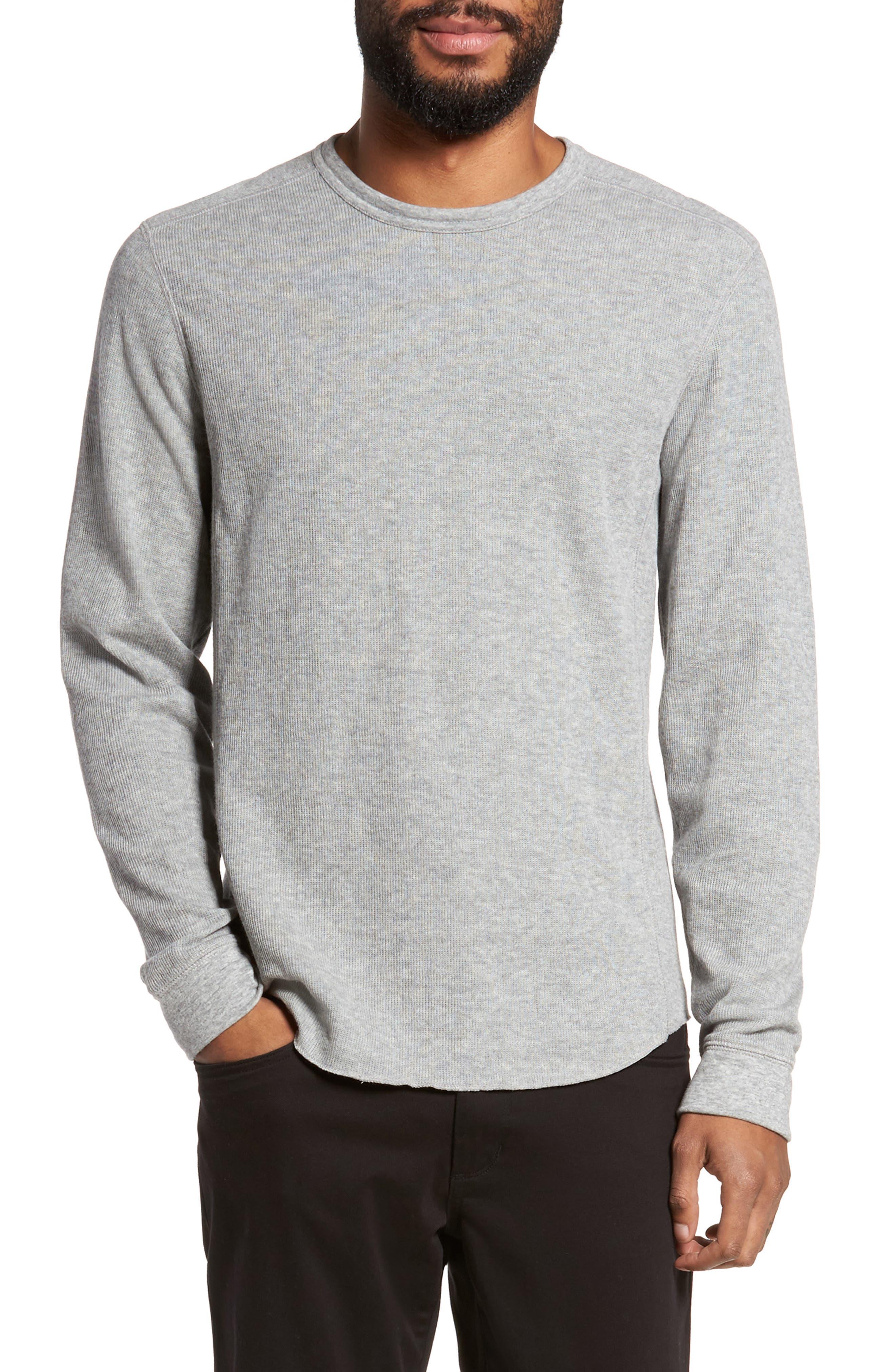 Double Knit Long Sleeve T-Shirt,                             Main thumbnail 2, color,