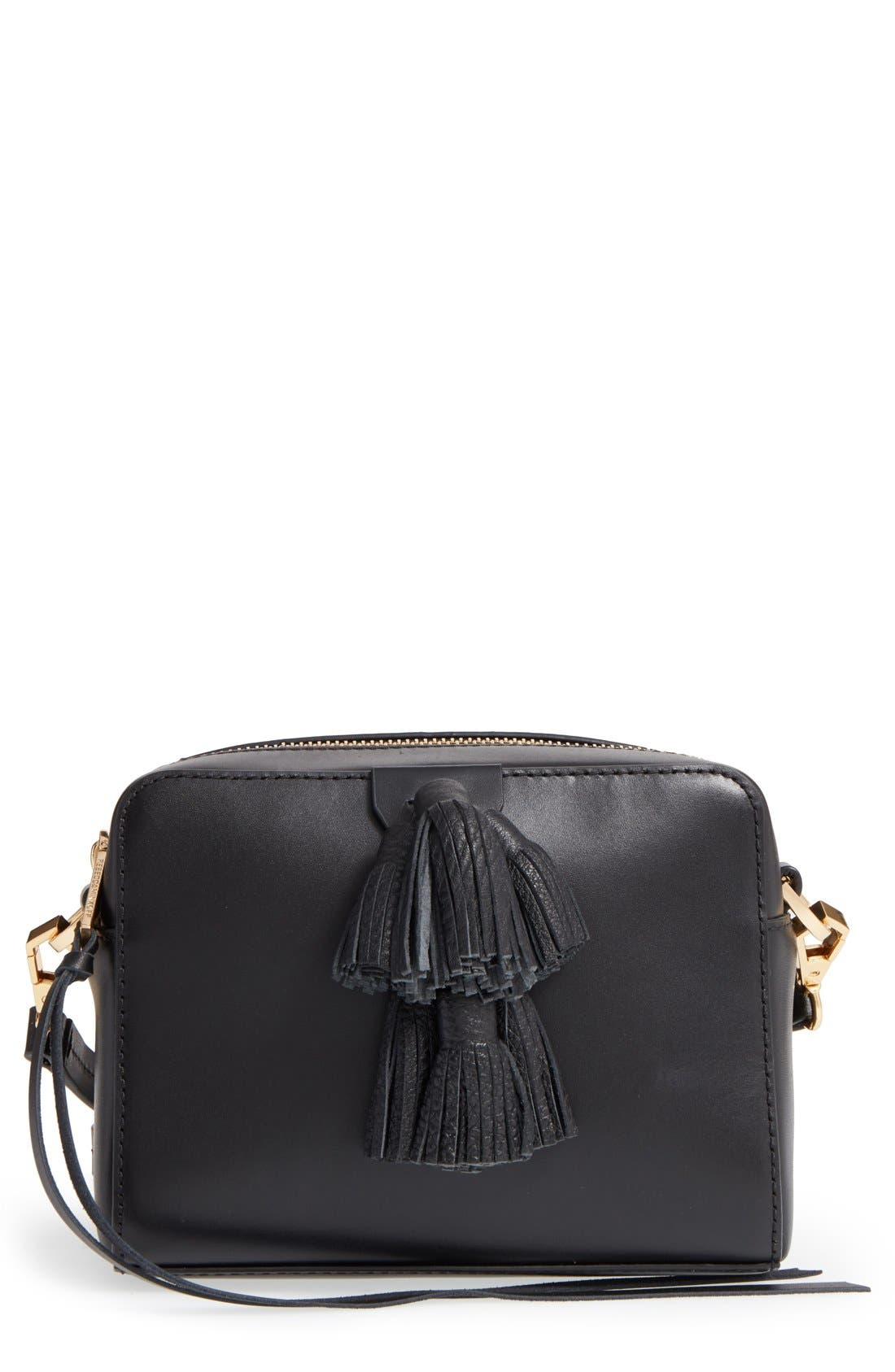 'Mini Sofia' Crossbody Bag, Main, color, 001
