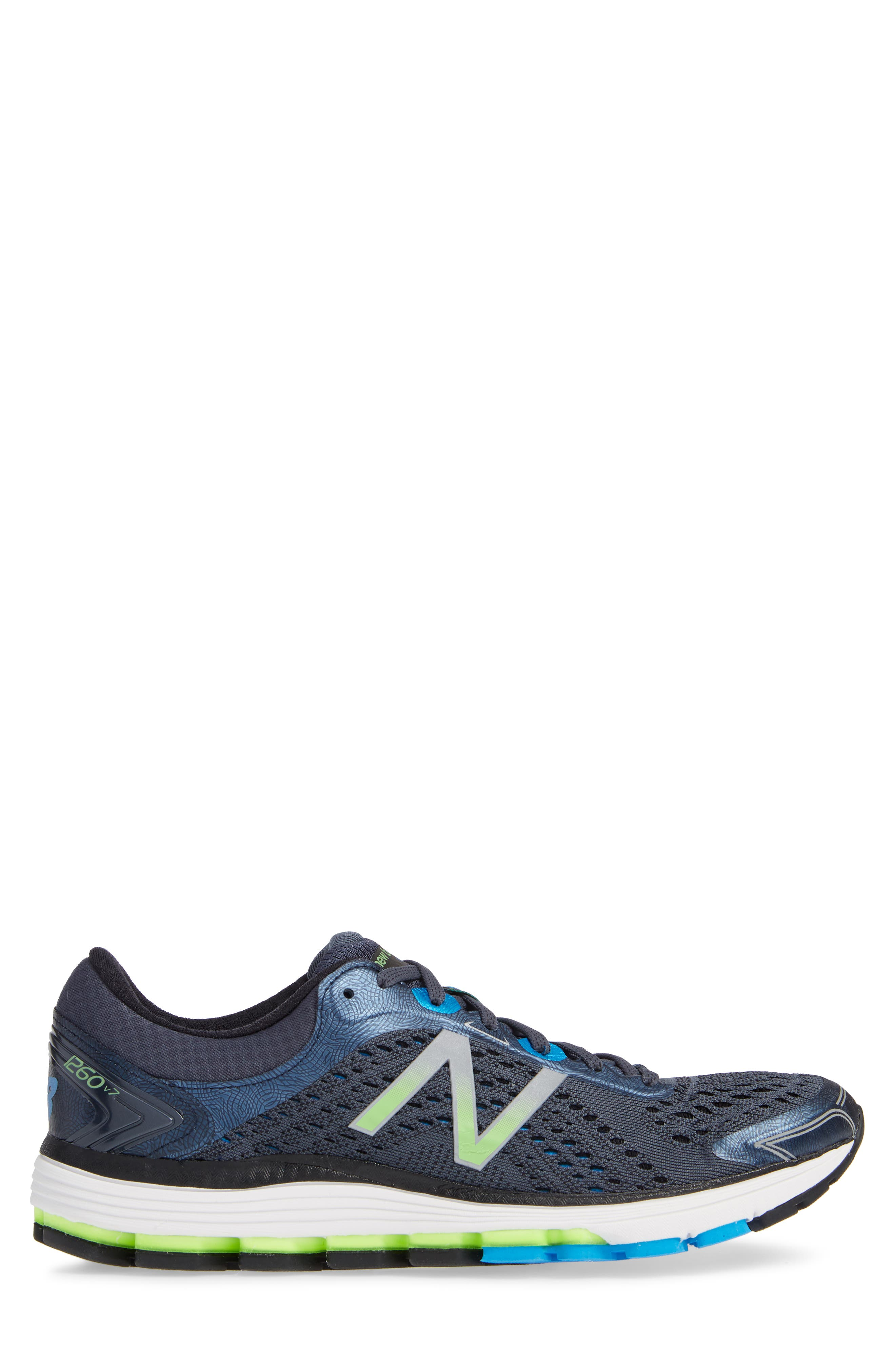 1260v7 Running Shoe,                             Alternate thumbnail 3, color,                             THUNDER