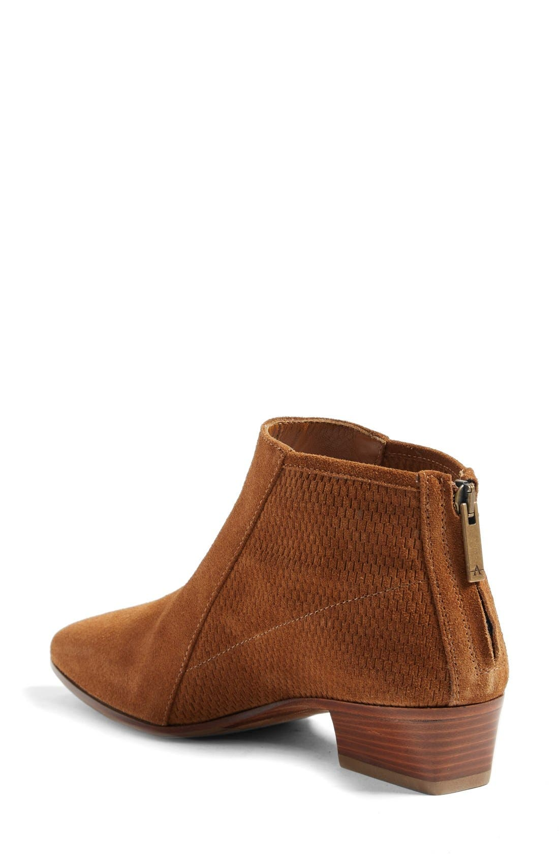 Fianna Perforated Bootie,                             Alternate thumbnail 8, color,