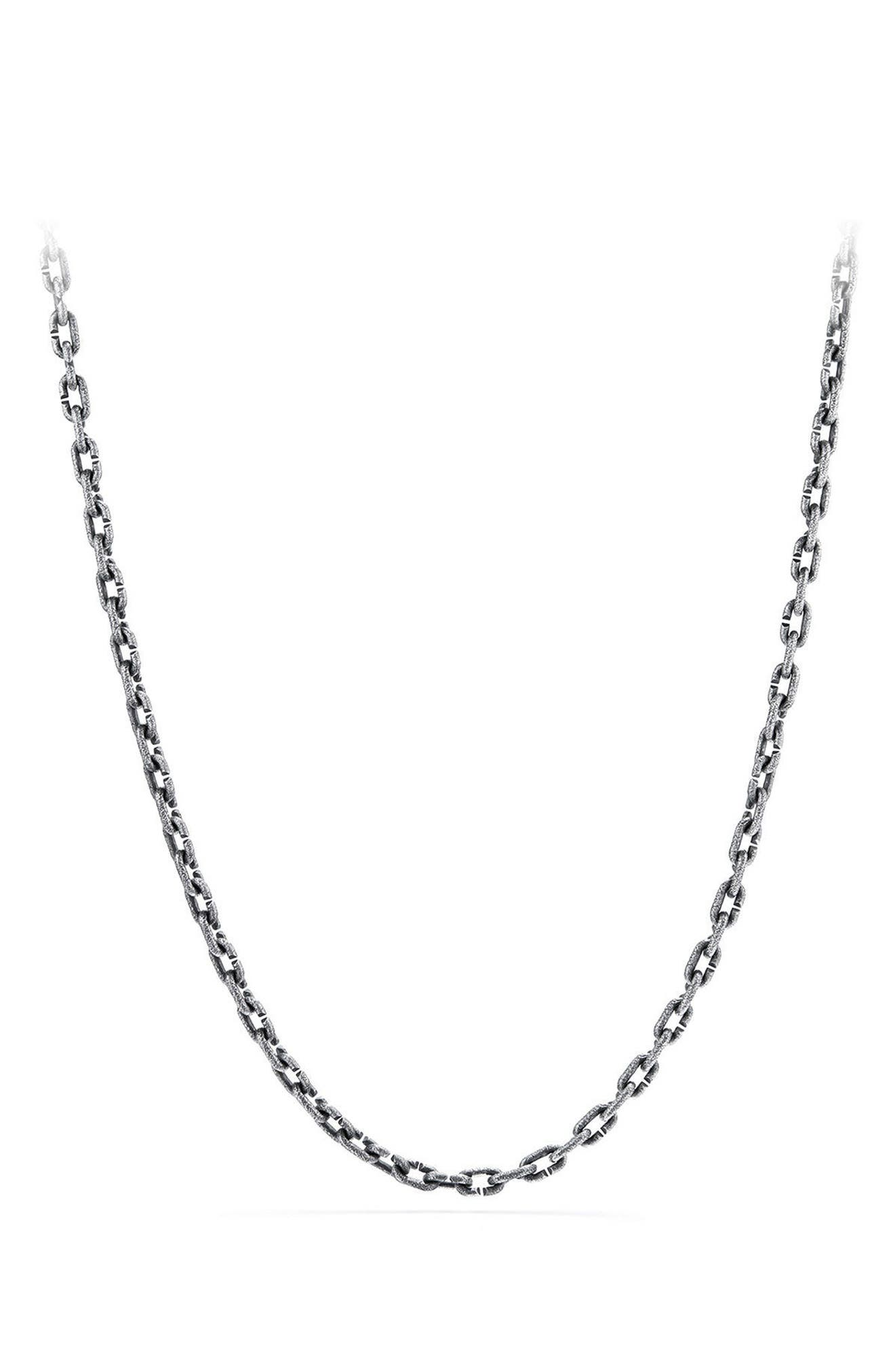 Shipwreck Chain Necklace,                         Main,                         color, SILVER