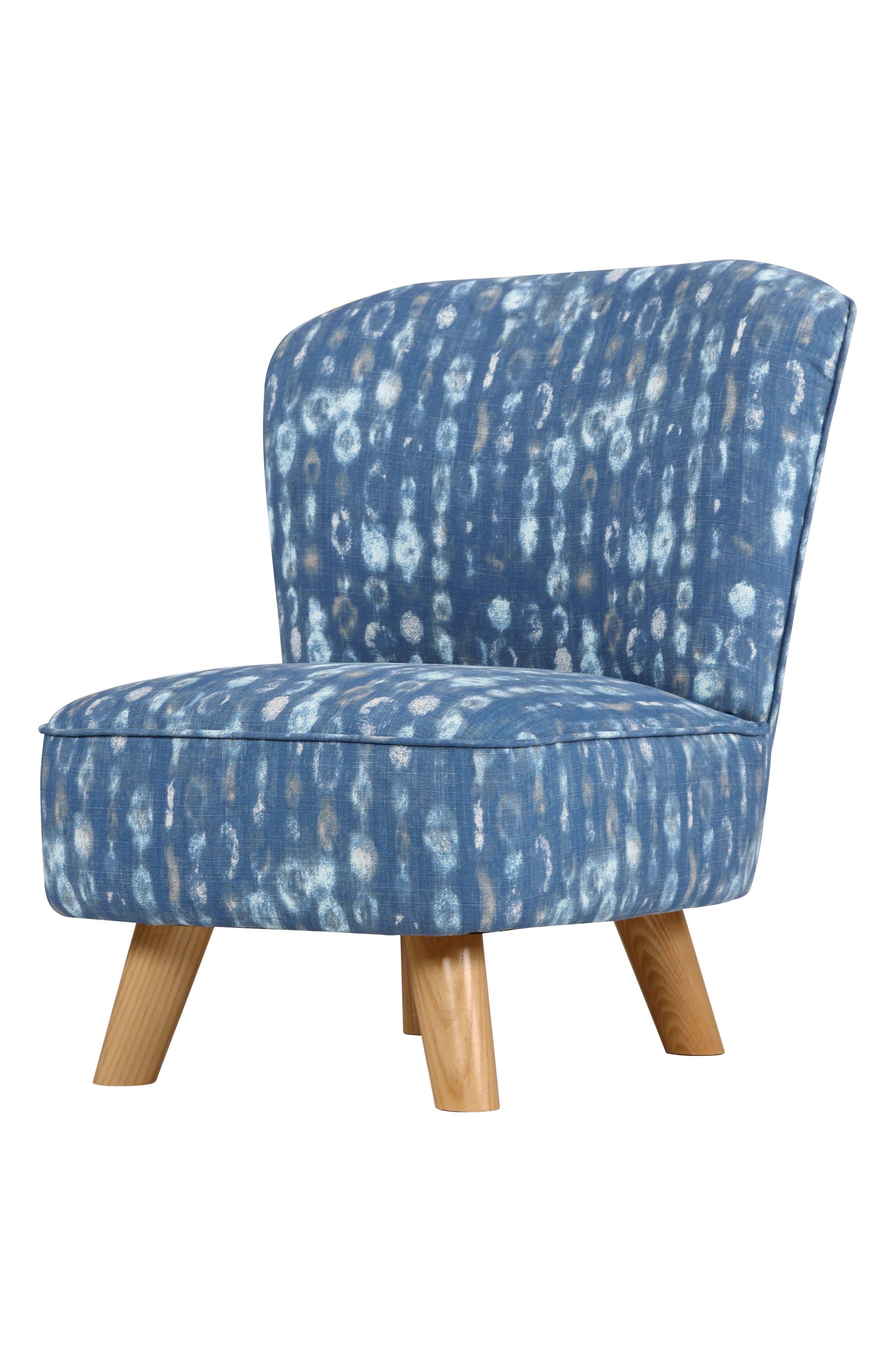Pop Mini Chair,                             Alternate thumbnail 2, color,                             INDIGO BLUE