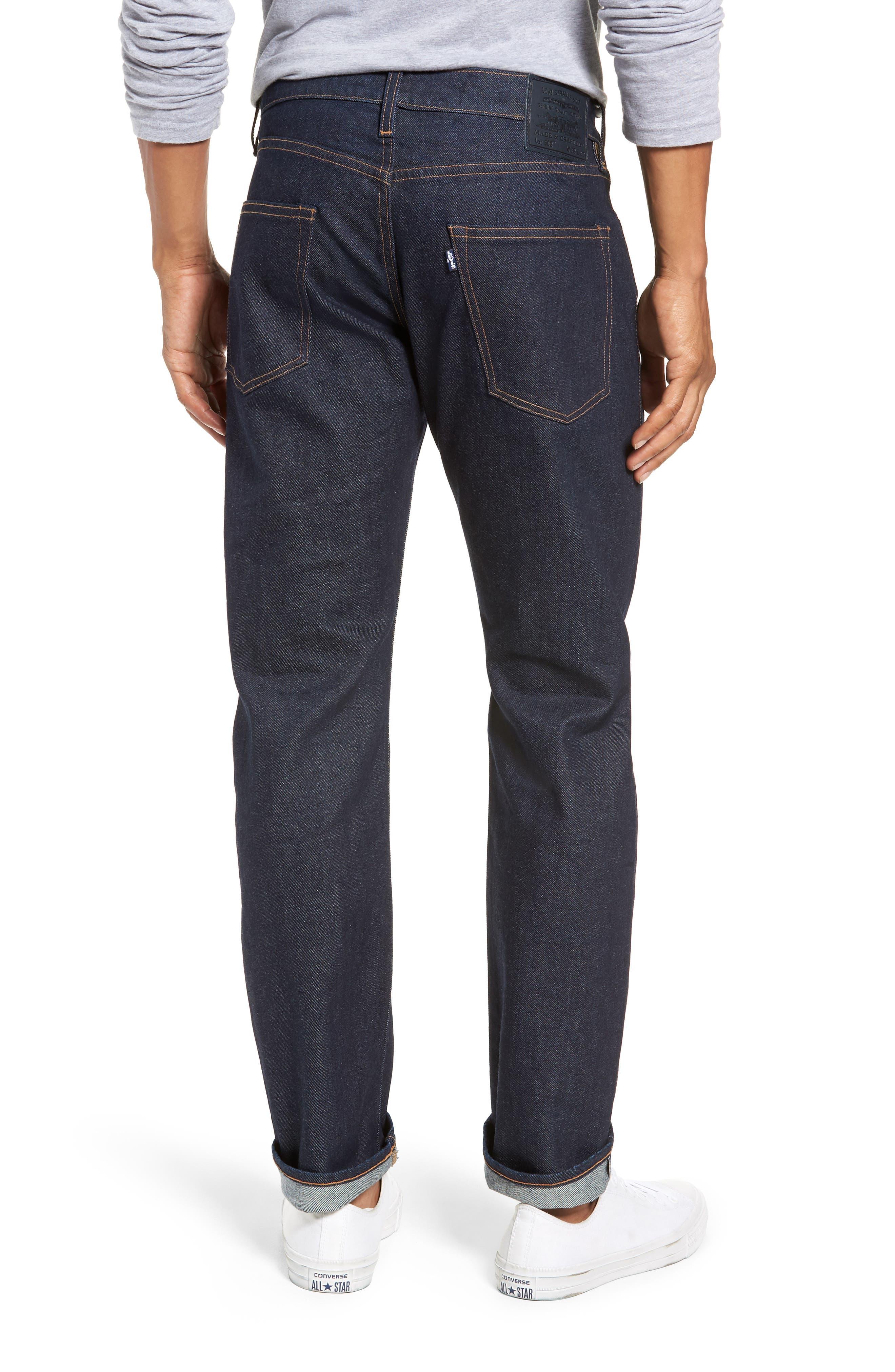 502<sup>™</sup> Straight Leg Jeans,                             Alternate thumbnail 2, color,                             401