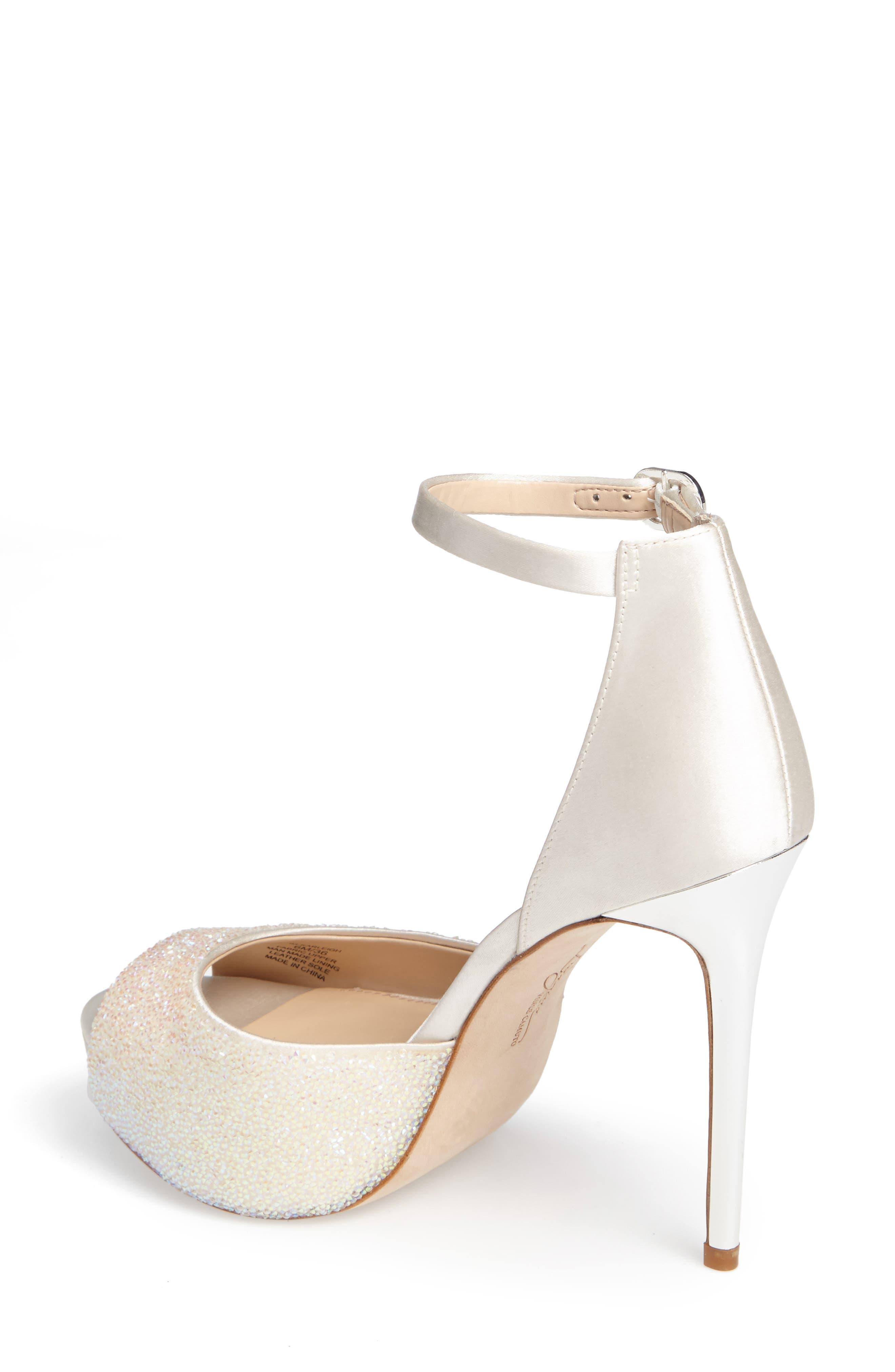 Karleigh Platform Sandal,                             Alternate thumbnail 8, color,