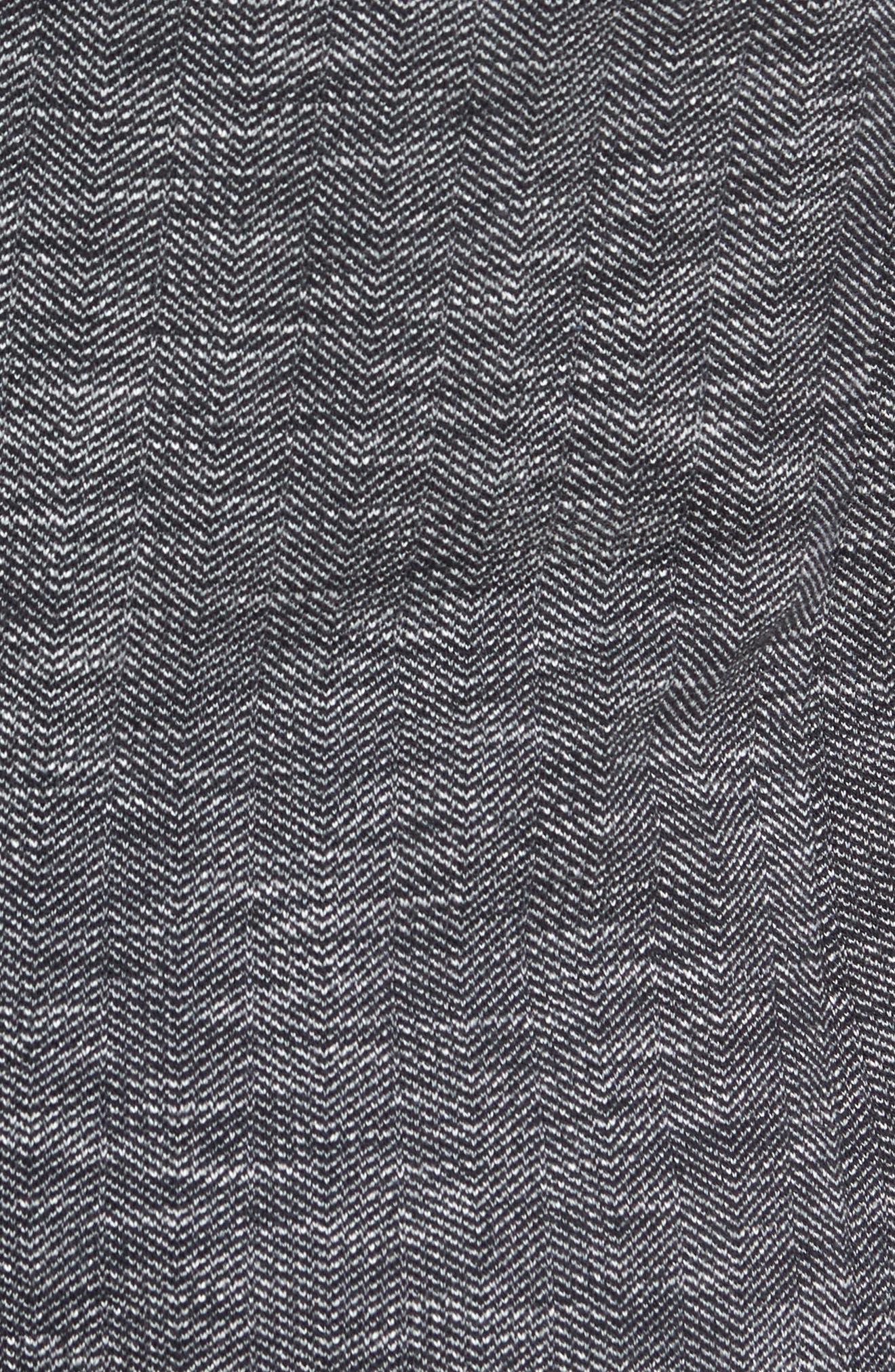 Slim Fit Vintage Herringbone Knit Blazer,                             Alternate thumbnail 6, color,